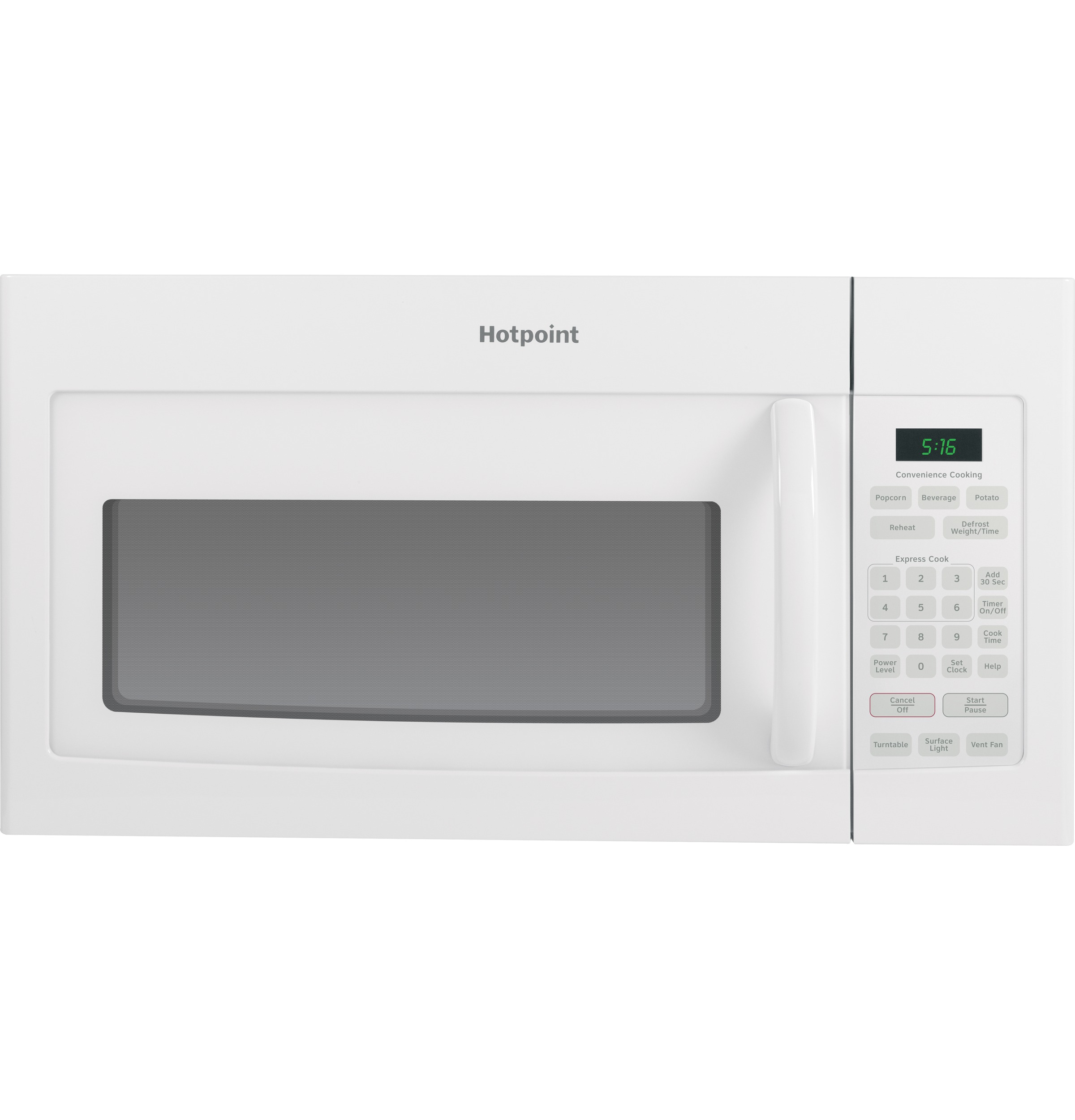 Hotpoint Hotpoint® 1.6 Cu. Ft. Over-the-Range Microwave Oven
