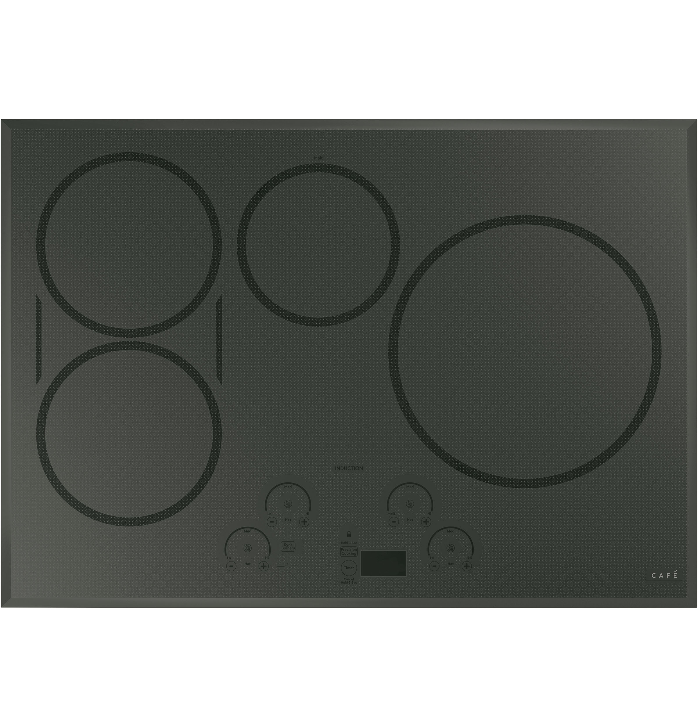 "Cafe Café™ 30"" Smart Touch-Control Induction Cooktop"