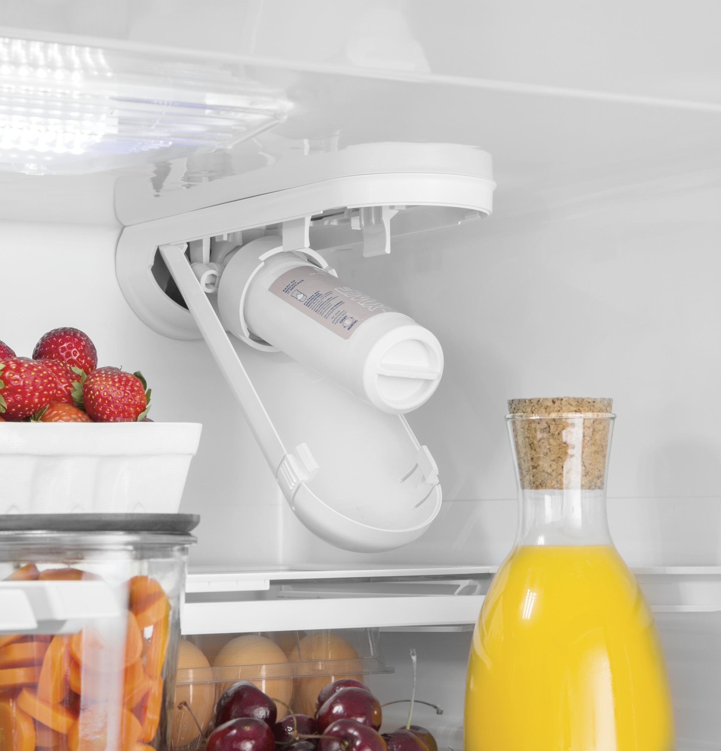Model: GNE27JMMES | GE® ENERGY STAR® 27.0 Cu. Ft. French-Door Refrigerator