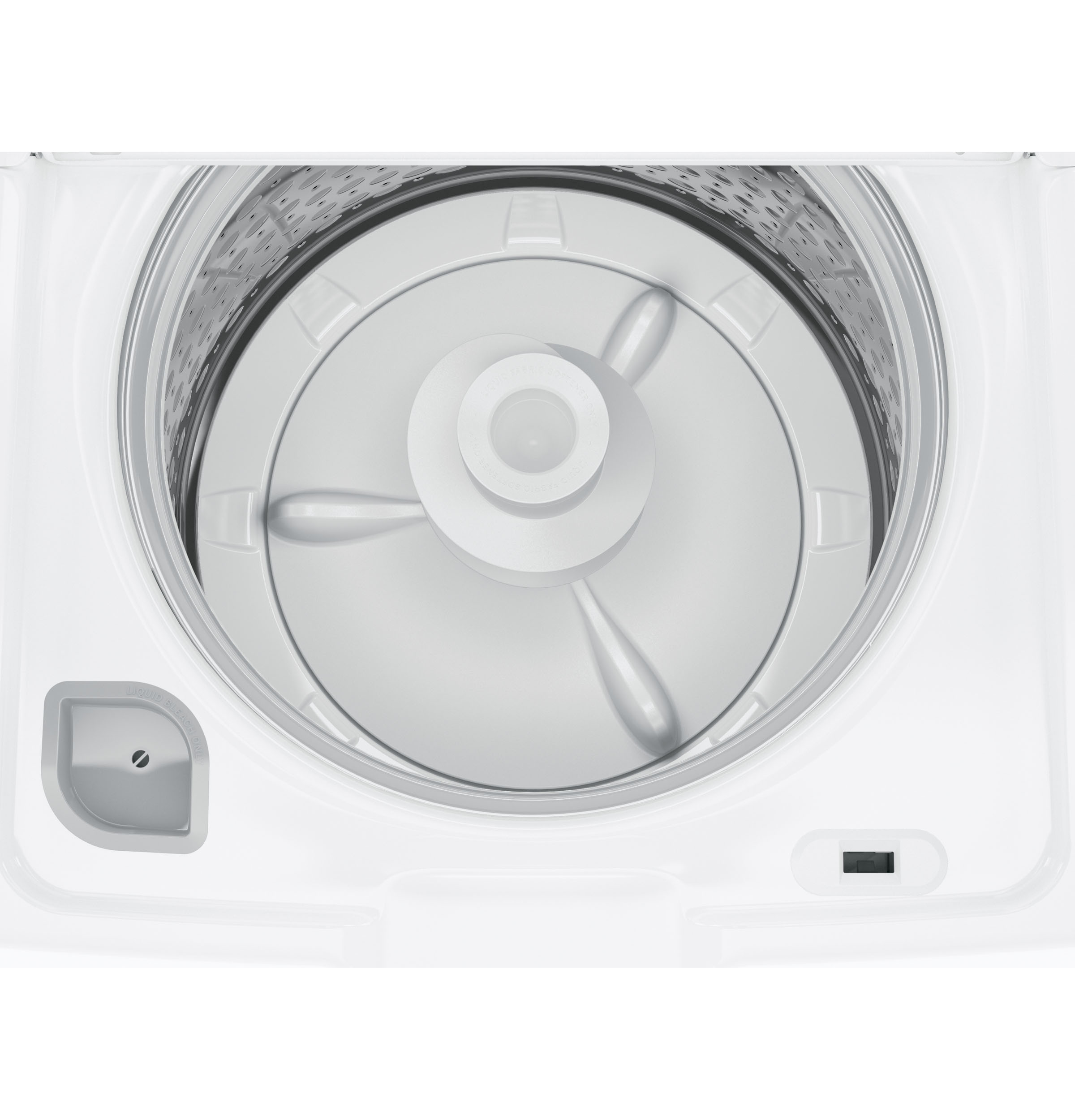 Model: GTW460ASJWW | GE GE® 4.2 cu. ft. Capacity Washer with Stainless Steel Basket