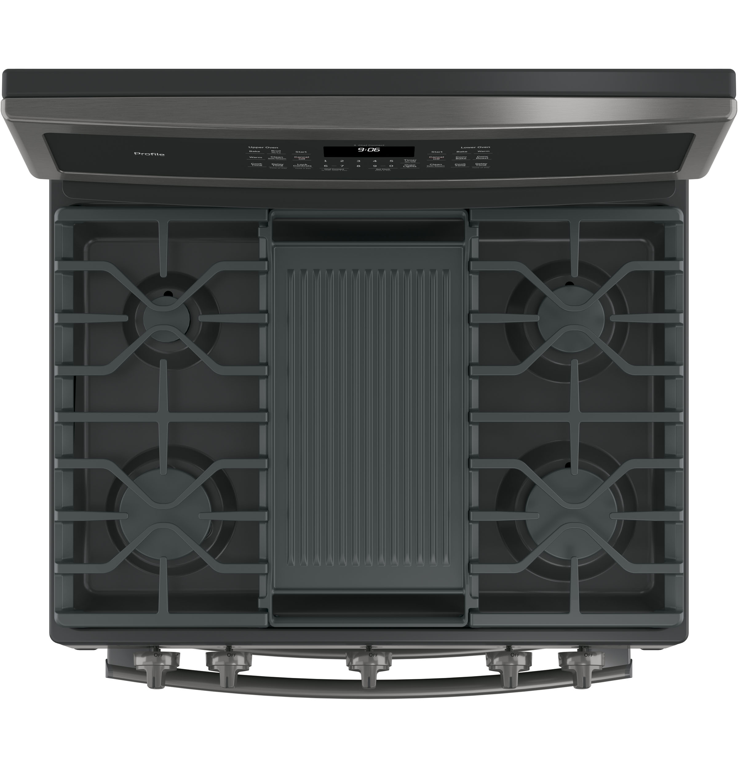 """Profile GE Profile™ 30"""" Free-Standing Gas Double Oven Convection Range"""