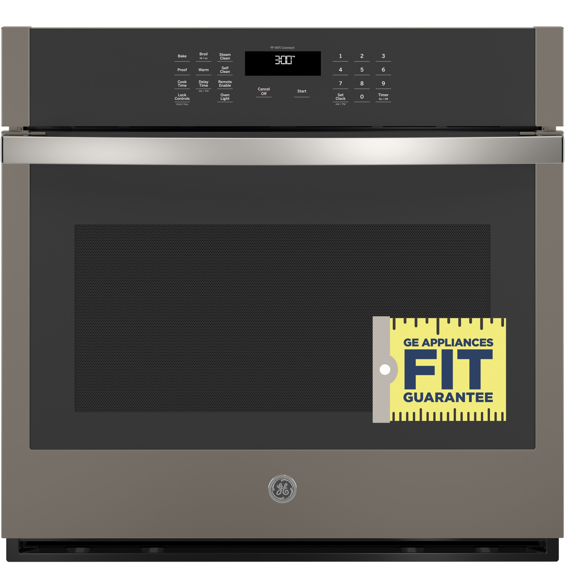 "Model: JTS3000ENES | GE GE® 30"" Smart Built-In Self-Clean Single Wall Oven with Never-Scrub Racks"
