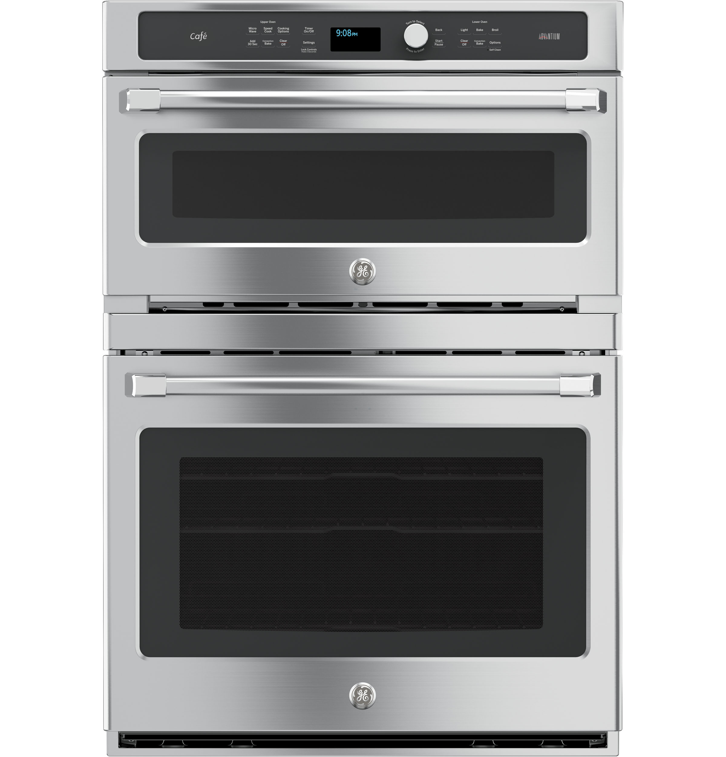 GE Cafe GE Café™ Series 30 in. Combination Double Wall Oven with Convection and Advantium® Technology