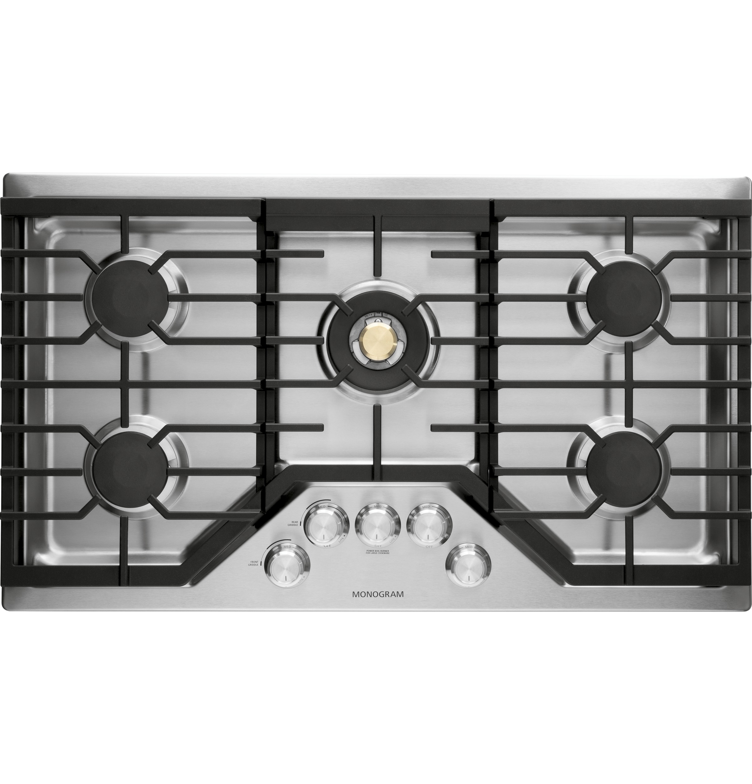 "Monogram Monogram 36"" Deep-Recessed Gas Cooktop (Natural Gas)"