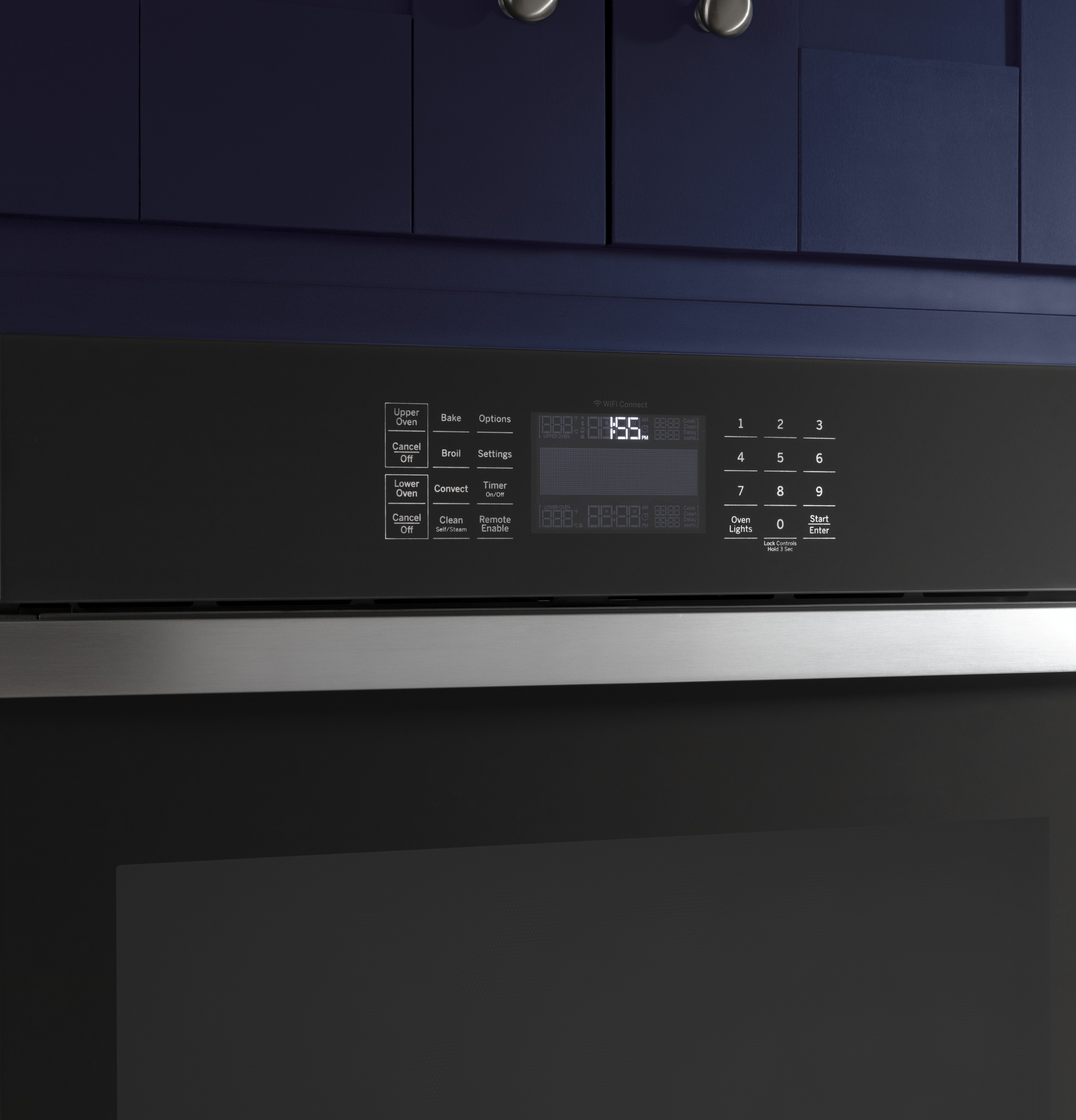 "Model: JTD5000DNBB | GE GE® 30"" Smart Built-In Convection Double Wall Oven"