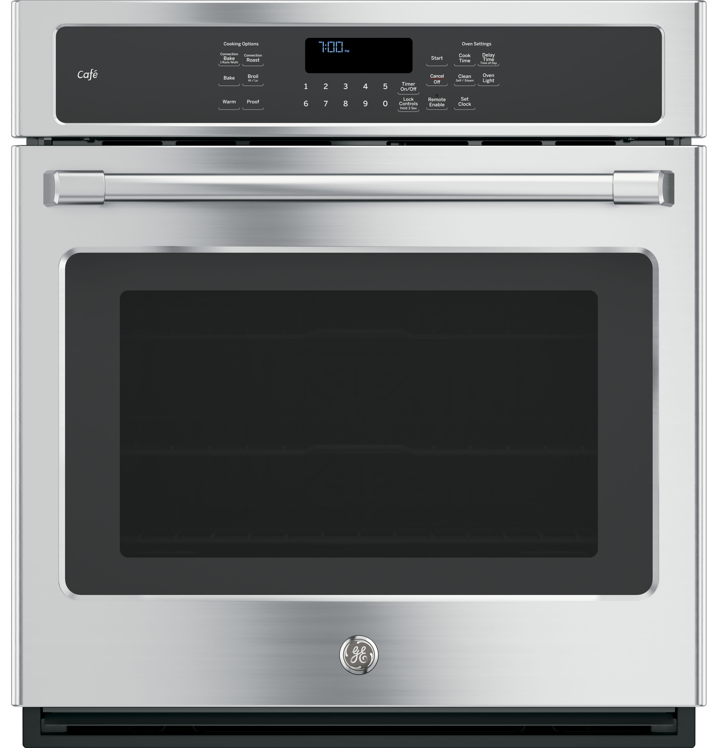 "GE Cafe GE Café™  27"" Single Convection Wall Oven"