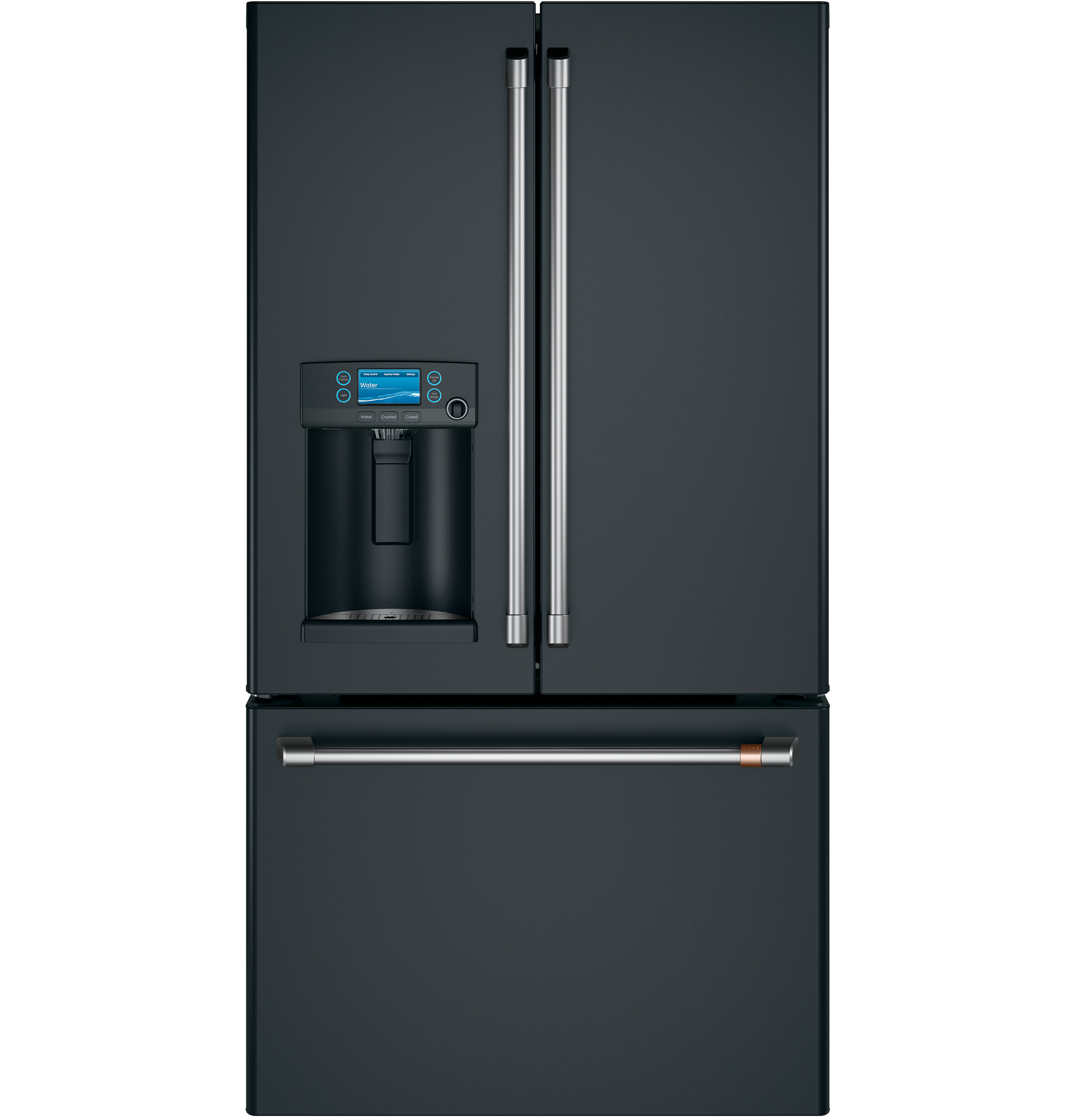Model: CFE28TP3MD1 | Cafe Café™ ENERGY STAR® 27.8 Cu. Ft. Smart French-Door Refrigerator with Hot Water Dispenser