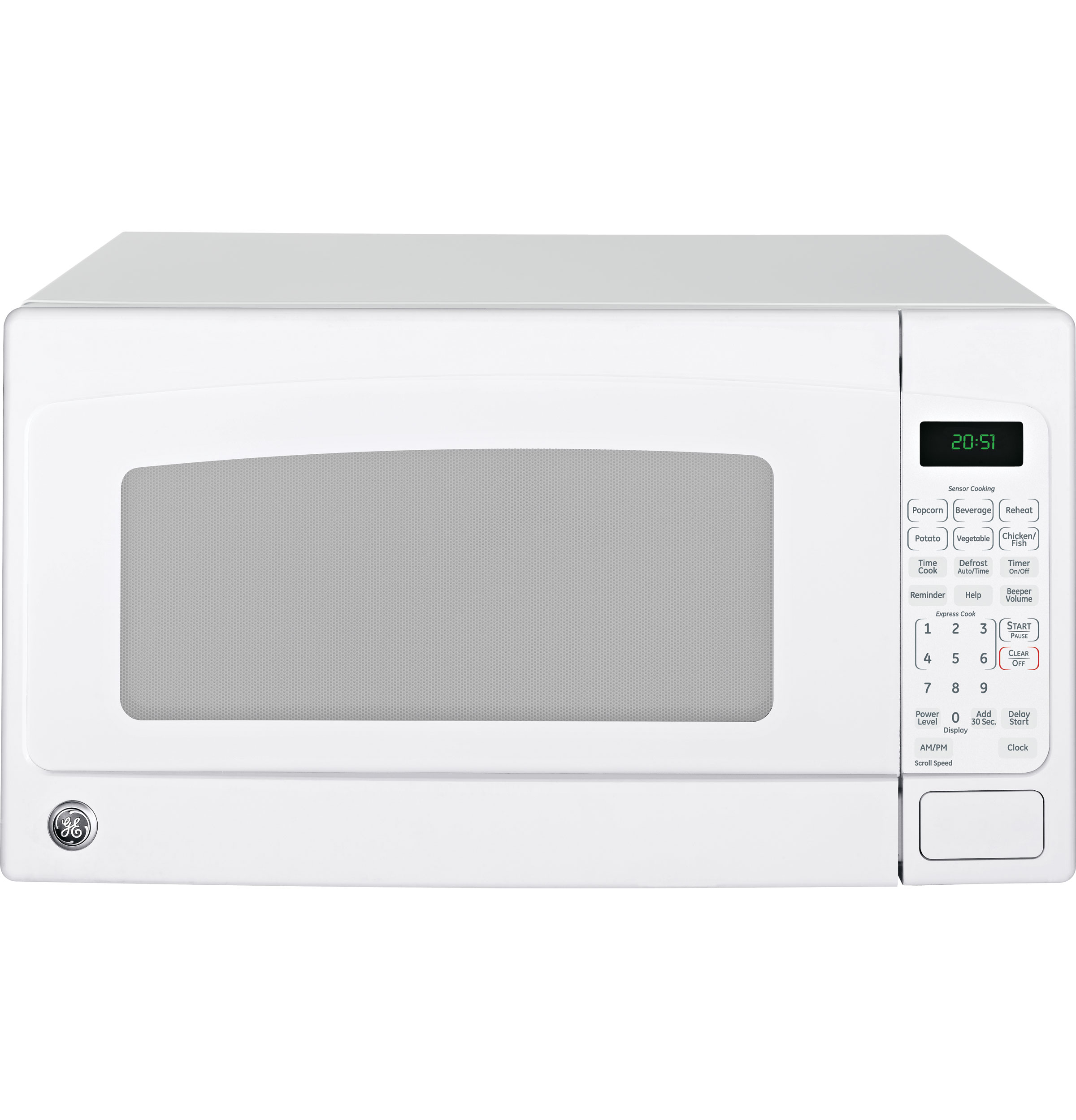 Model: JES2051DNWW | GE® 2.0 Cu. Ft. Capacity Countertop Microwave Oven