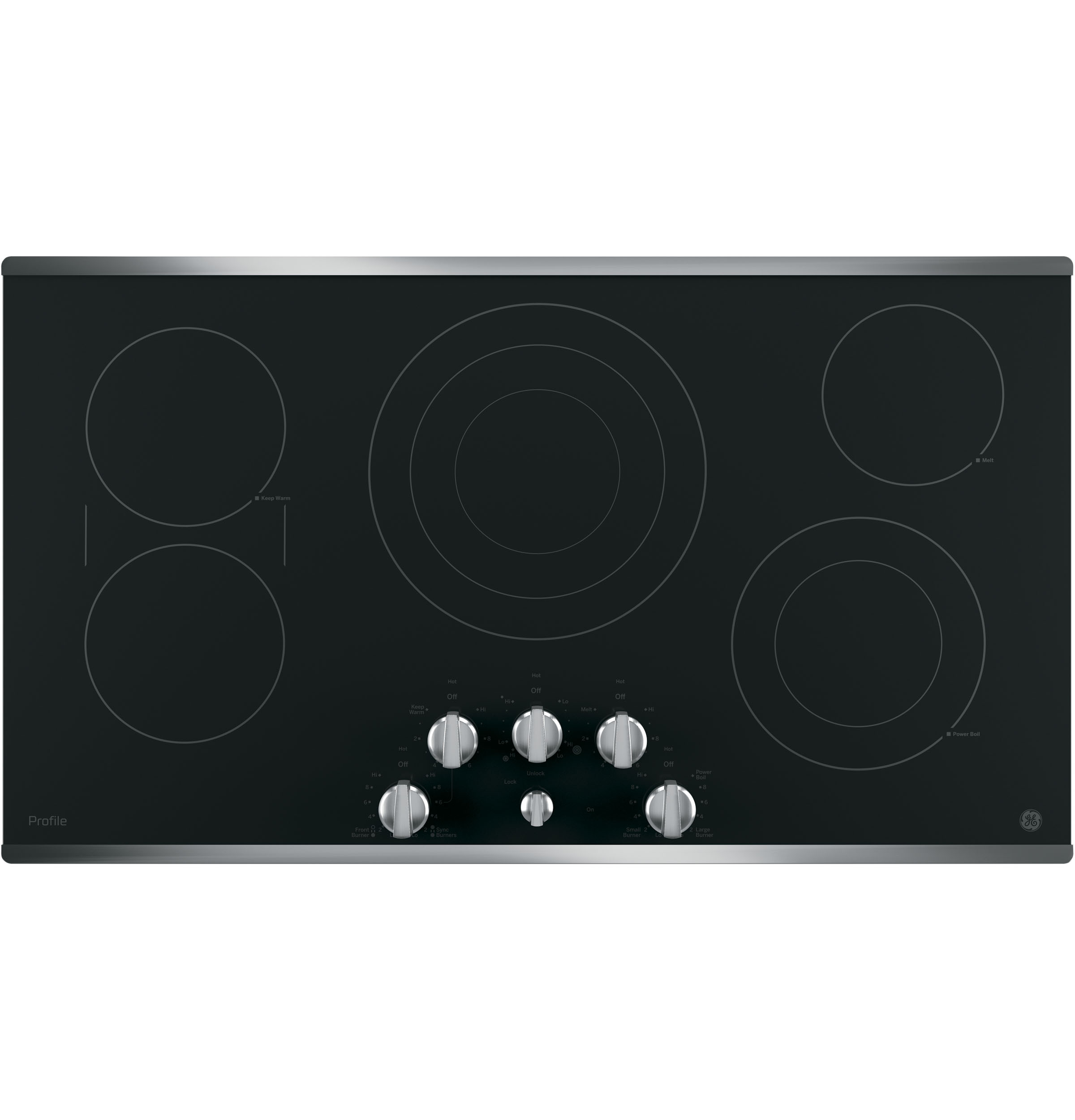 "Profile GE Profile™ 36"" Built-In Knob Control Cooktop"