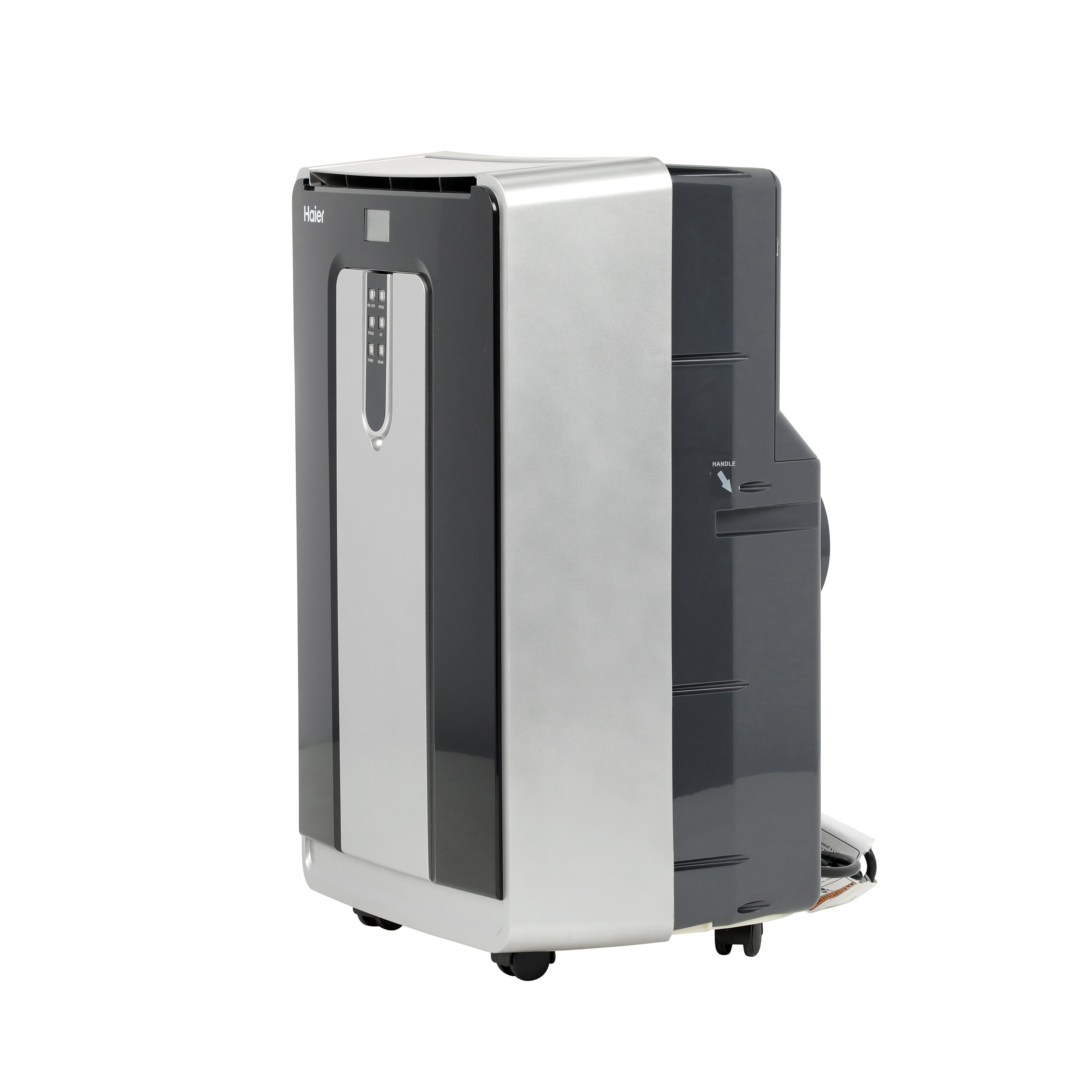 Model: HPND14XCT | Haier Portable Air Conditioner - Dual Hose