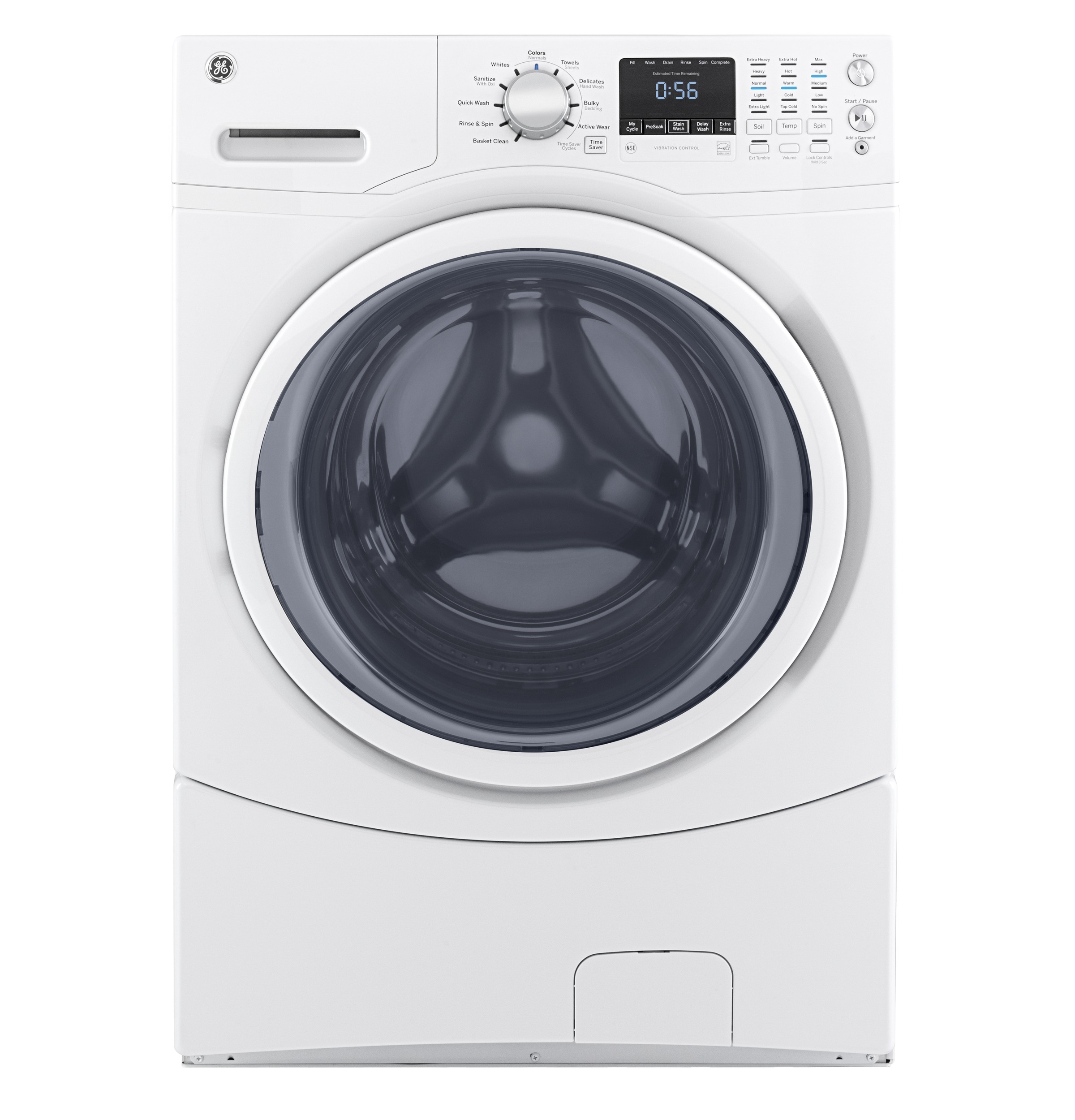 GE GE® 4.5 cu. ft. Capacity Front Load ENERGY STAR® Washer