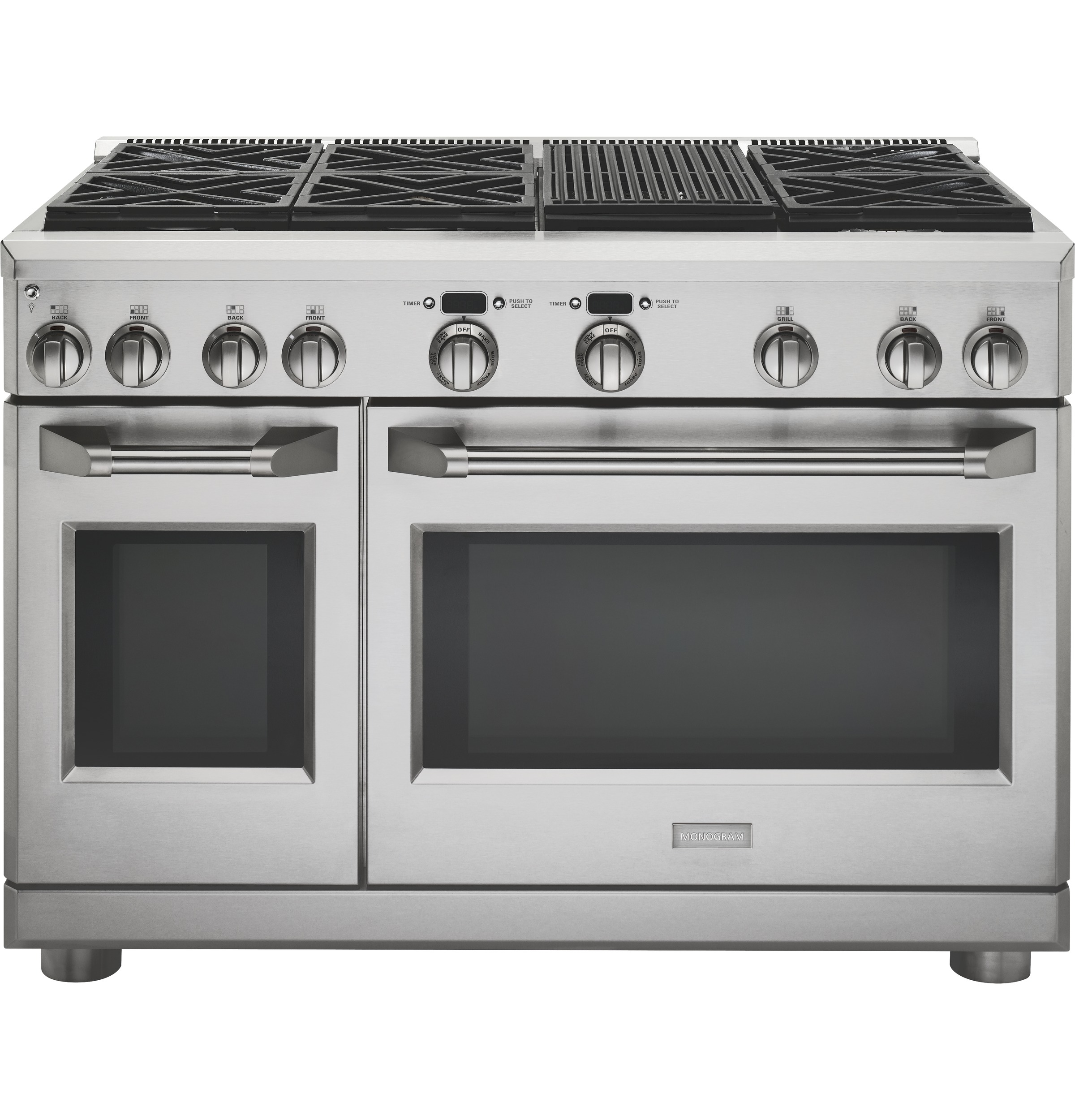 "Monogram Monogram 48"" Dual-Fuel Professional Range with 6 Burners and Grill (Natural Gas)"