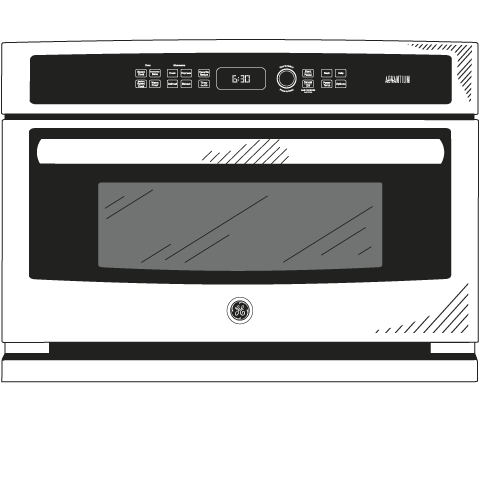 Model: PSB9100EFES   GE Profile™ Series 27 in. Single Wall Oven Advantium® Technology