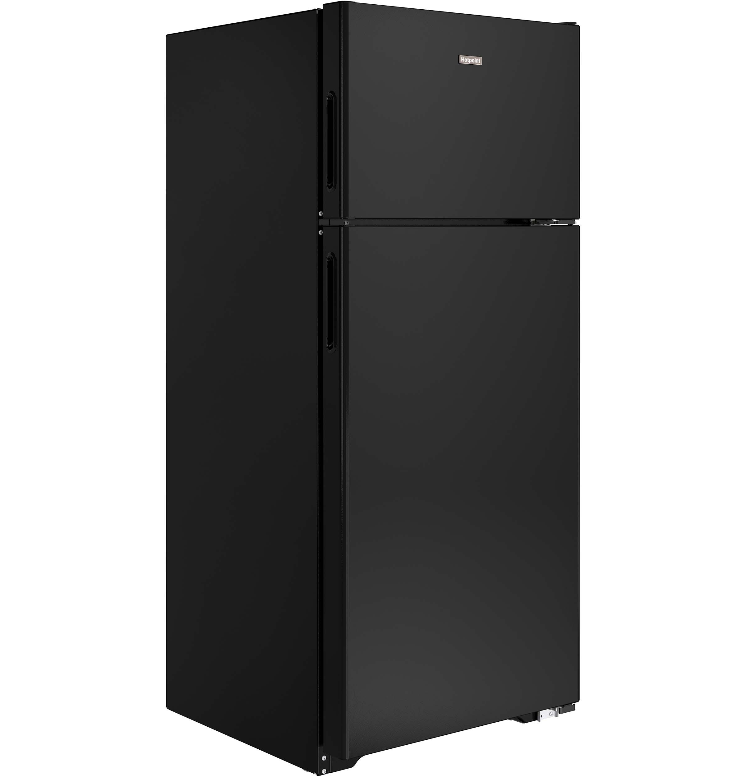 Model: HPS18BTHBB | Hotpoint® 17.5 Cu. Ft. Top-Freezer Refrigerator