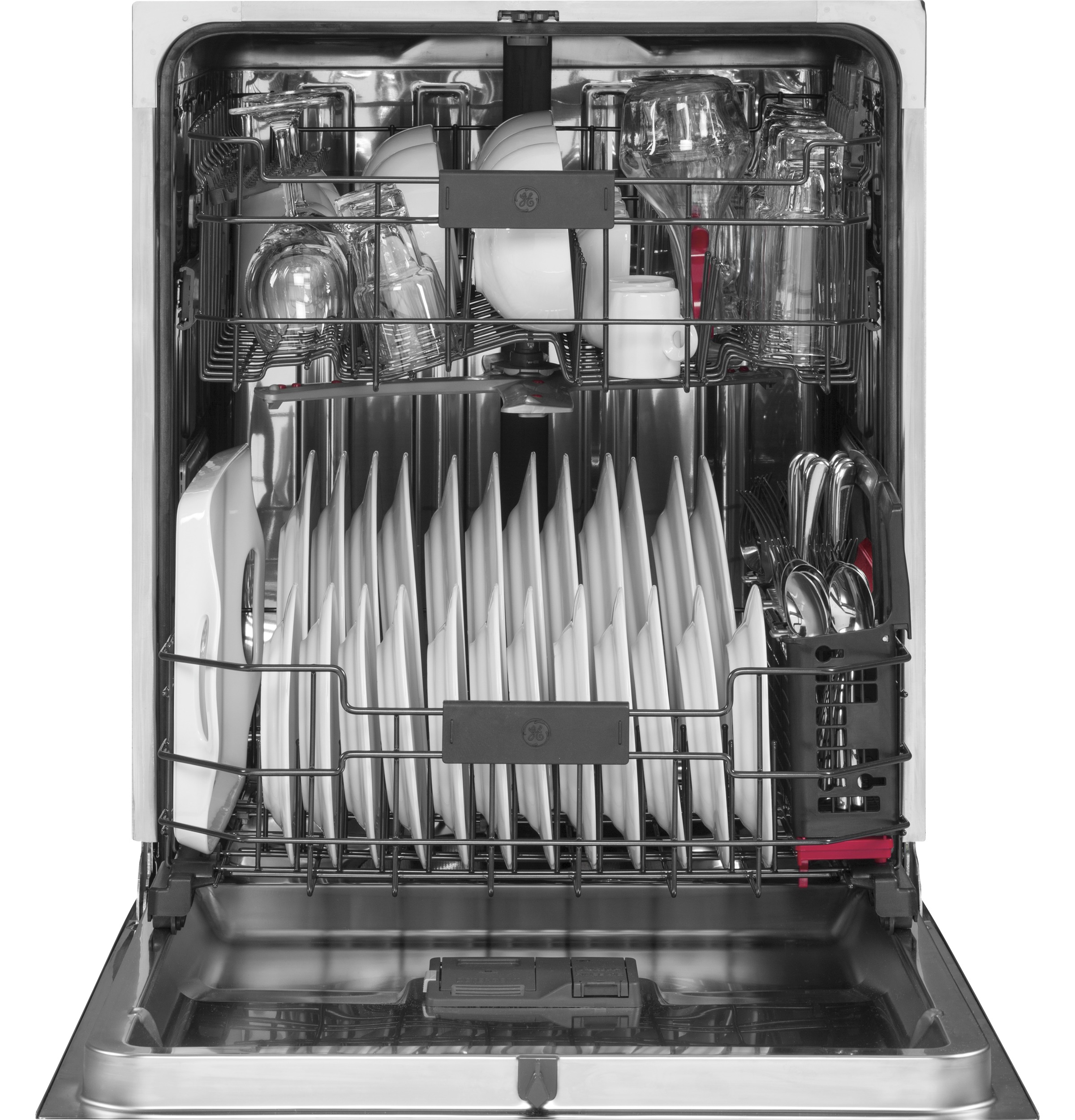 Model: PDT845SMJES | GE Profile™ Stainless Steel Interior Dishwasher with Hidden Controls