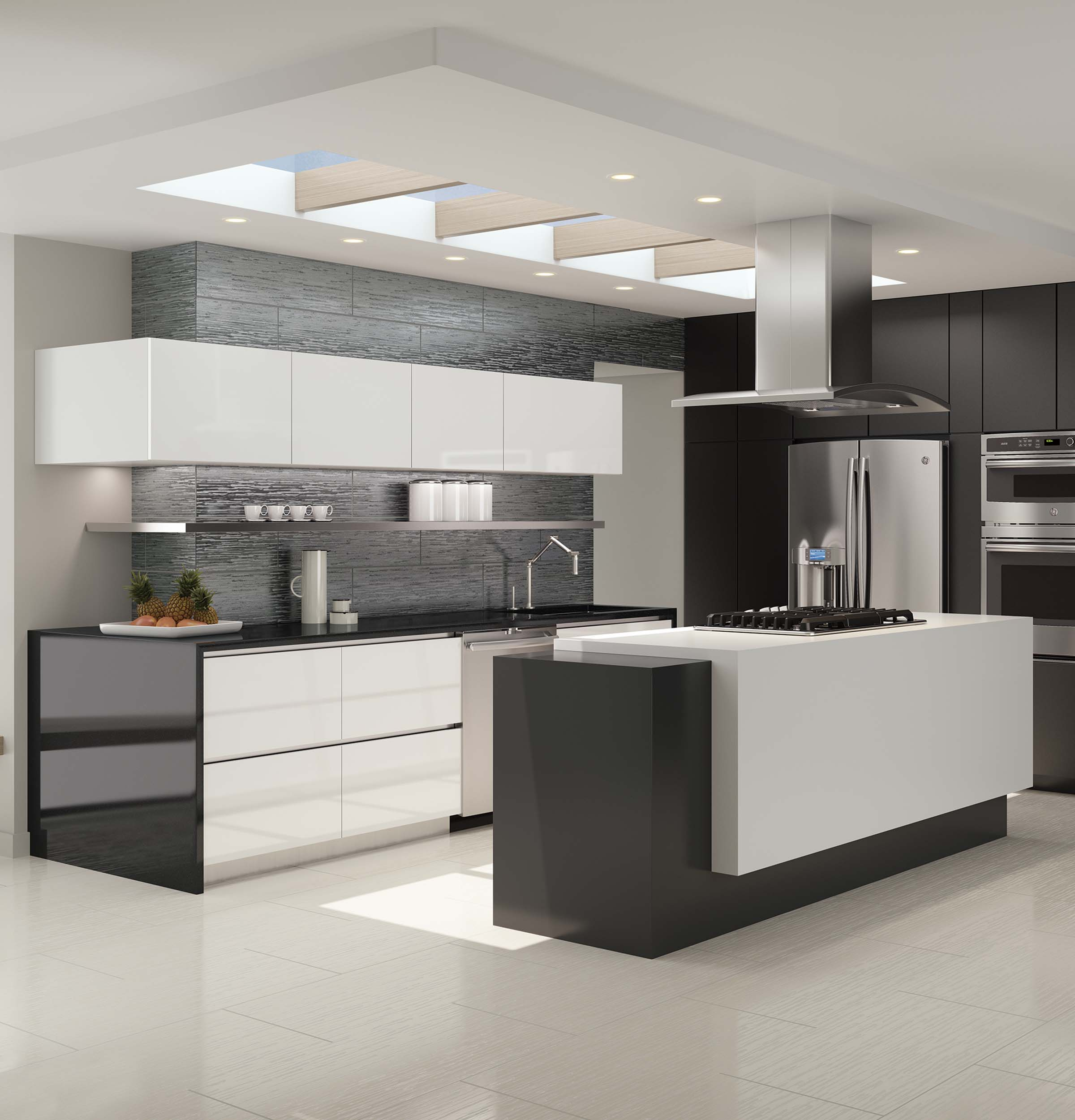 Model: PT9800SHSS | Profile GE Profile™ 30 in. Combination Double Wall Oven with Convection and Advantium® Technology