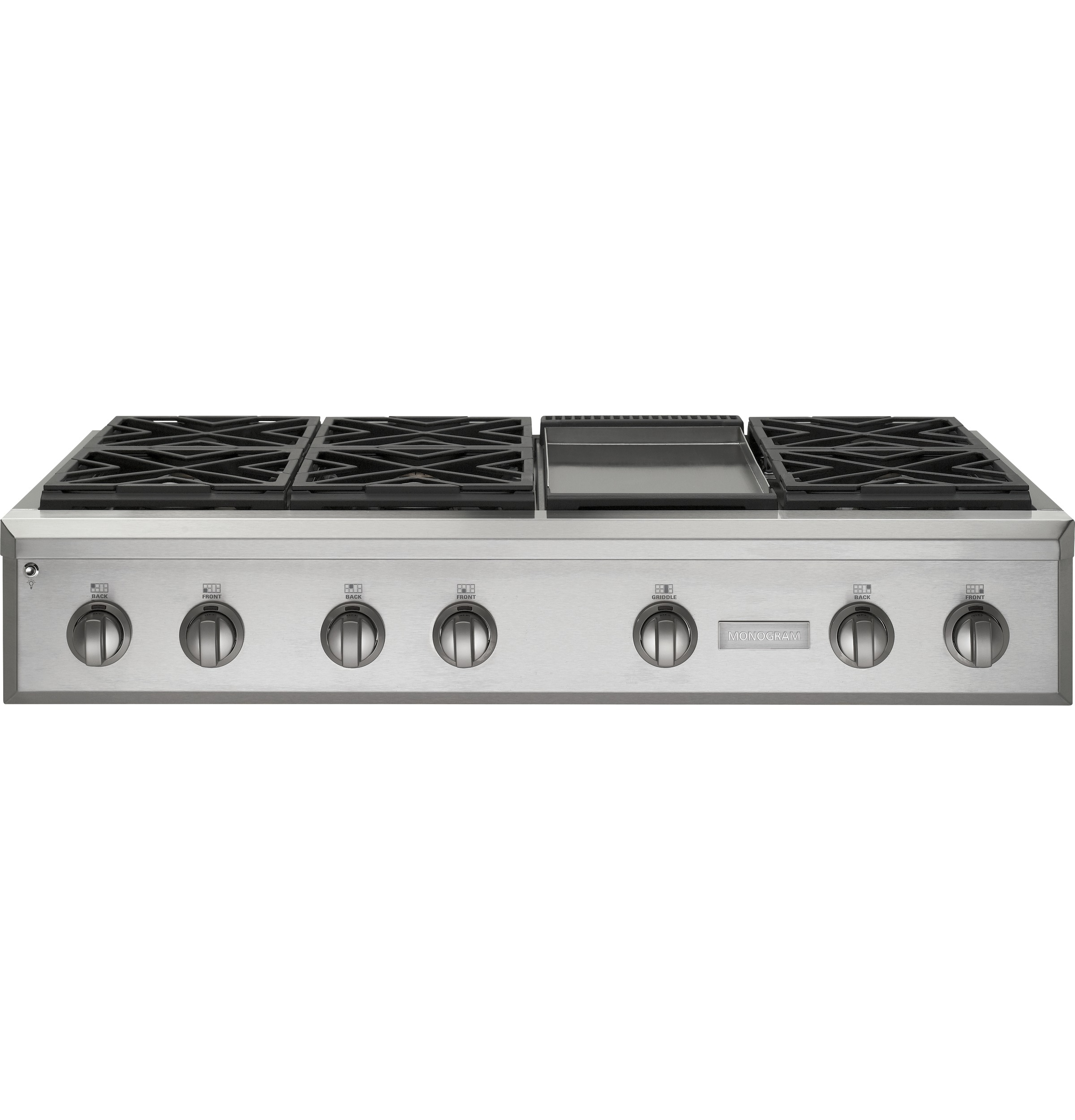 "Monogram Monogram 48"" Professional Gas Rangetop with 6 Burners and Griddle (Natural Gas)"