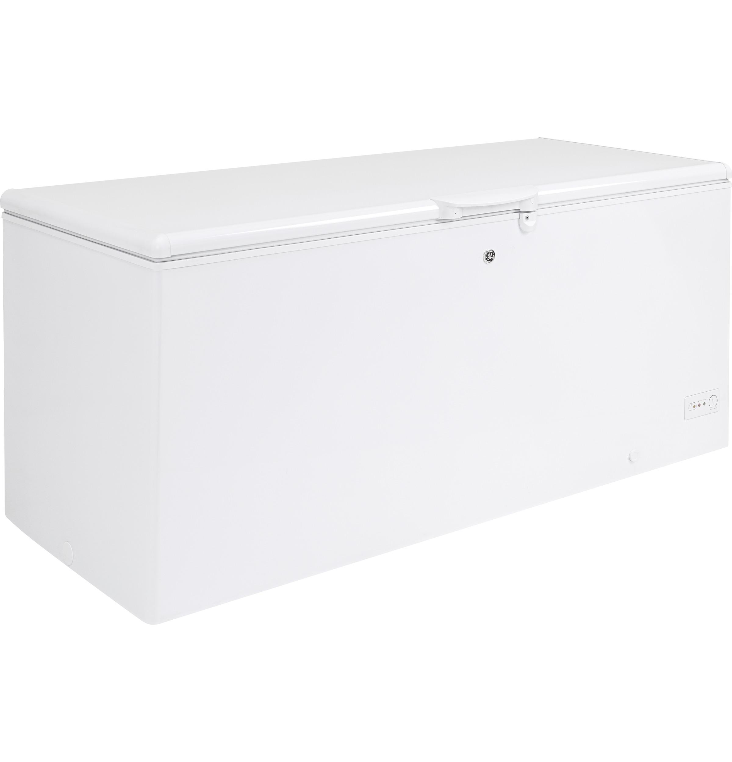 Model: FCM22DLWW | GE GE® 21.7 Cu. Ft. Manual Defrost Chest Freezer