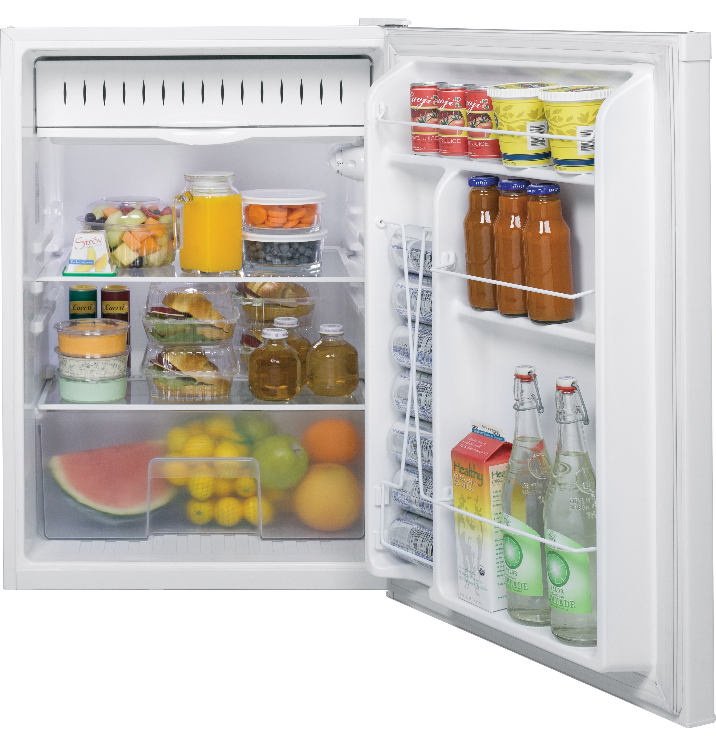 Model: GCE06GGHWW | GE GE® Compact Refrigerator