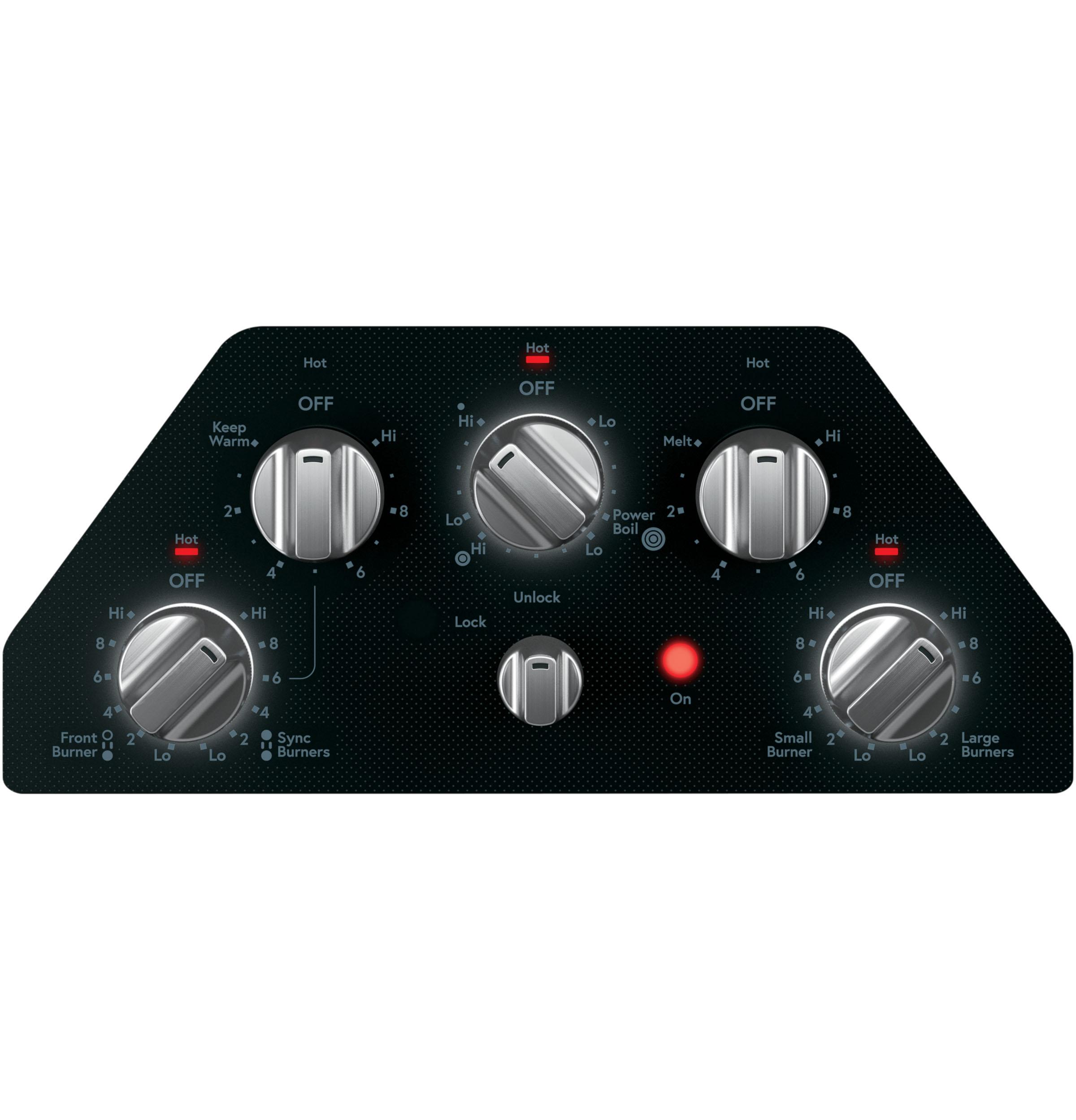 "Model: CEP70302MS1 | Cafe Café™ 30"" Knob-Control Electric Cooktop"