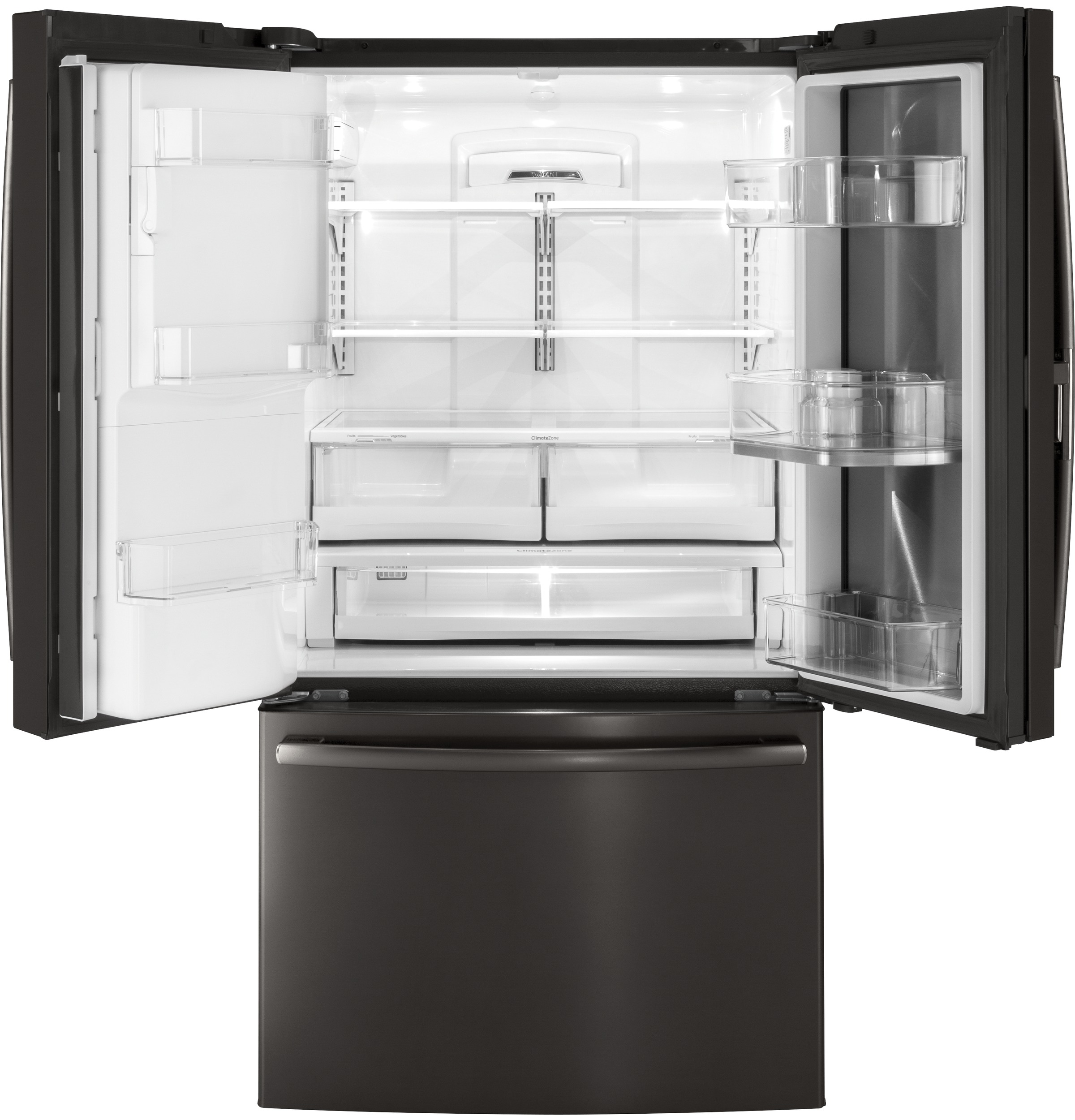 Model: GFD28GBLTS | GE GE® 27.8 Cu. Ft. French-Door Refrigerator with Door In Door