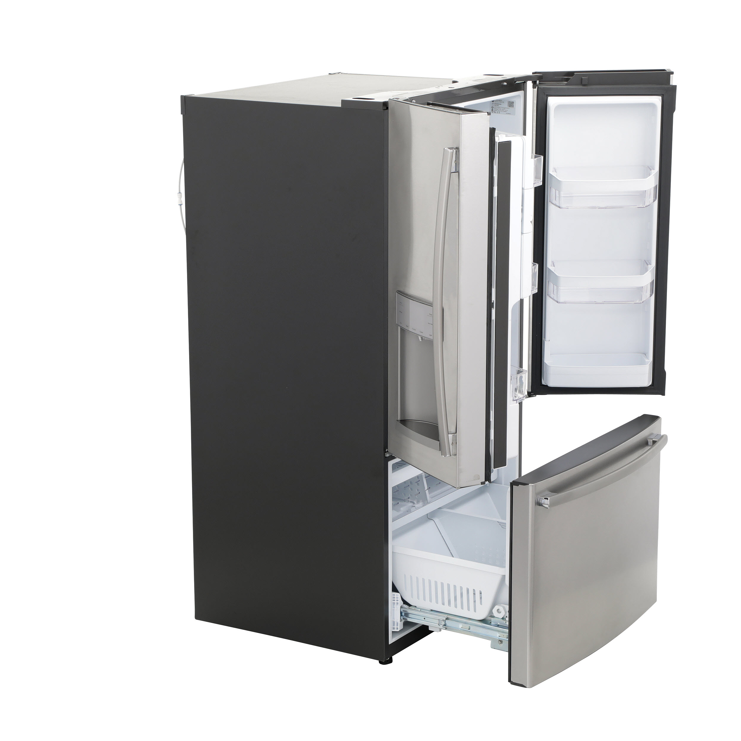 Model: GFE28GSKSS | GE GE® ENERGY STAR® 27.7 Cu. Ft. French-Door Refrigerator