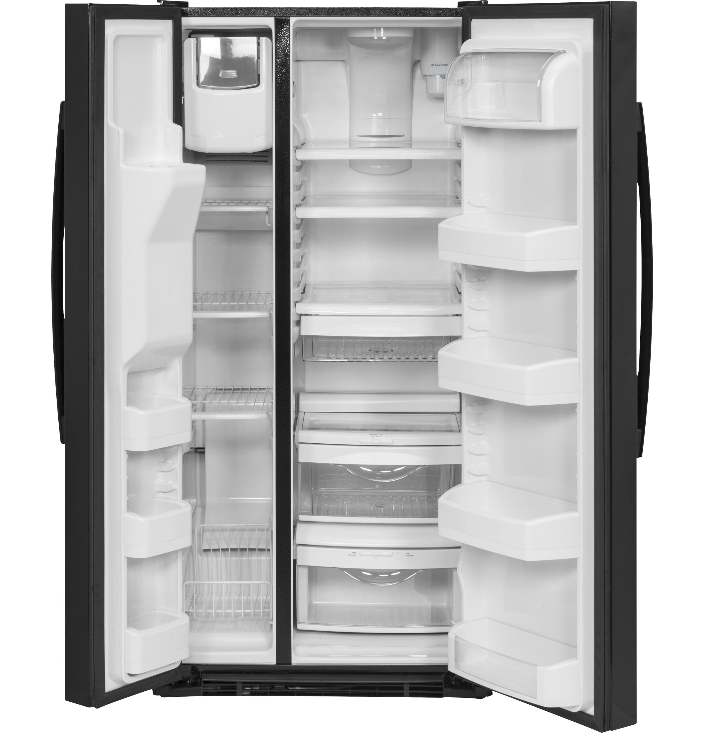 GE GE® 23.2 Cu. Ft. Side-By-Side Refrigerator