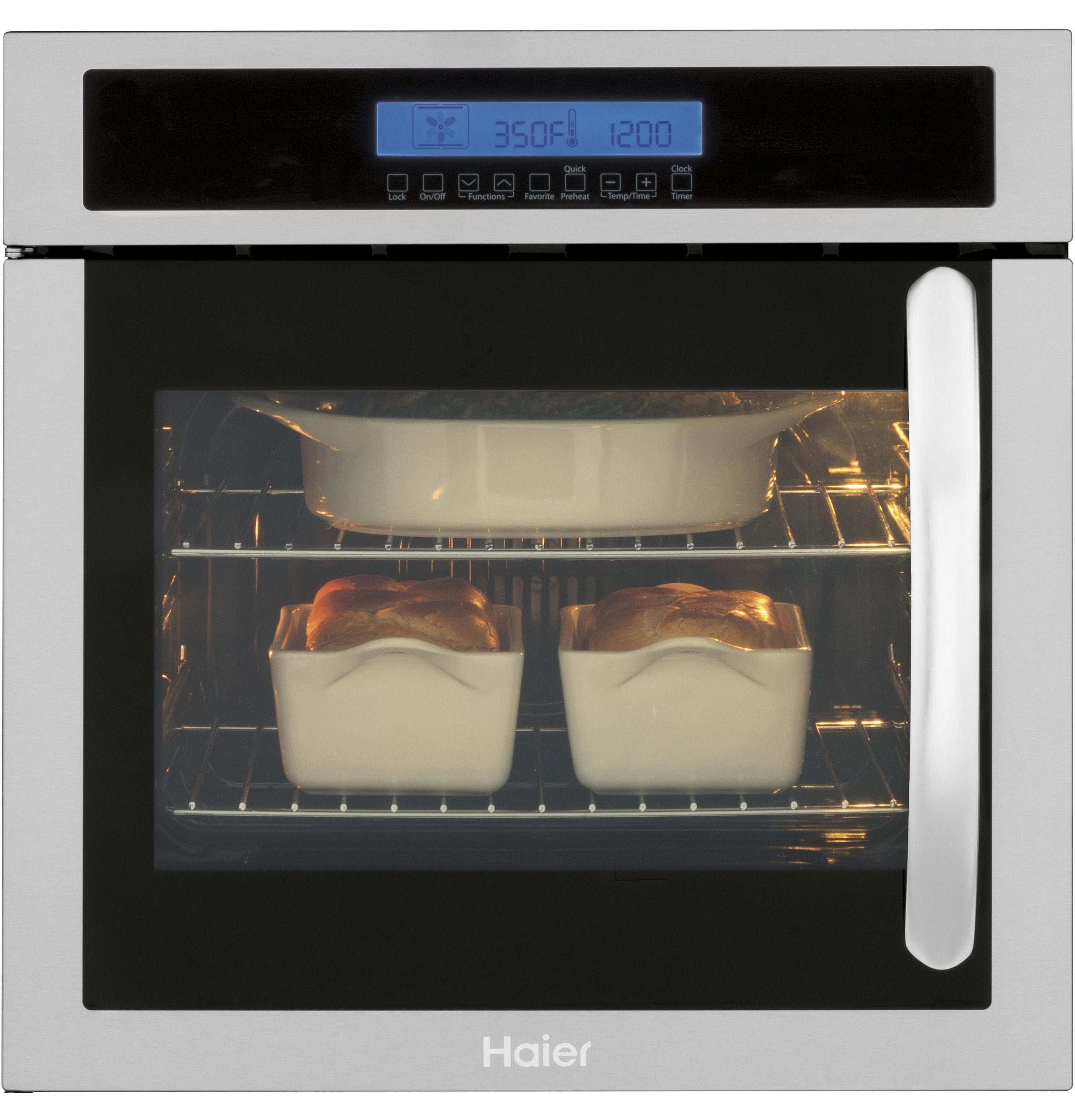 "Model: HCW225LAES | Haier 24"" Single 2.0 Cu. Ft. Left-Swing True European"