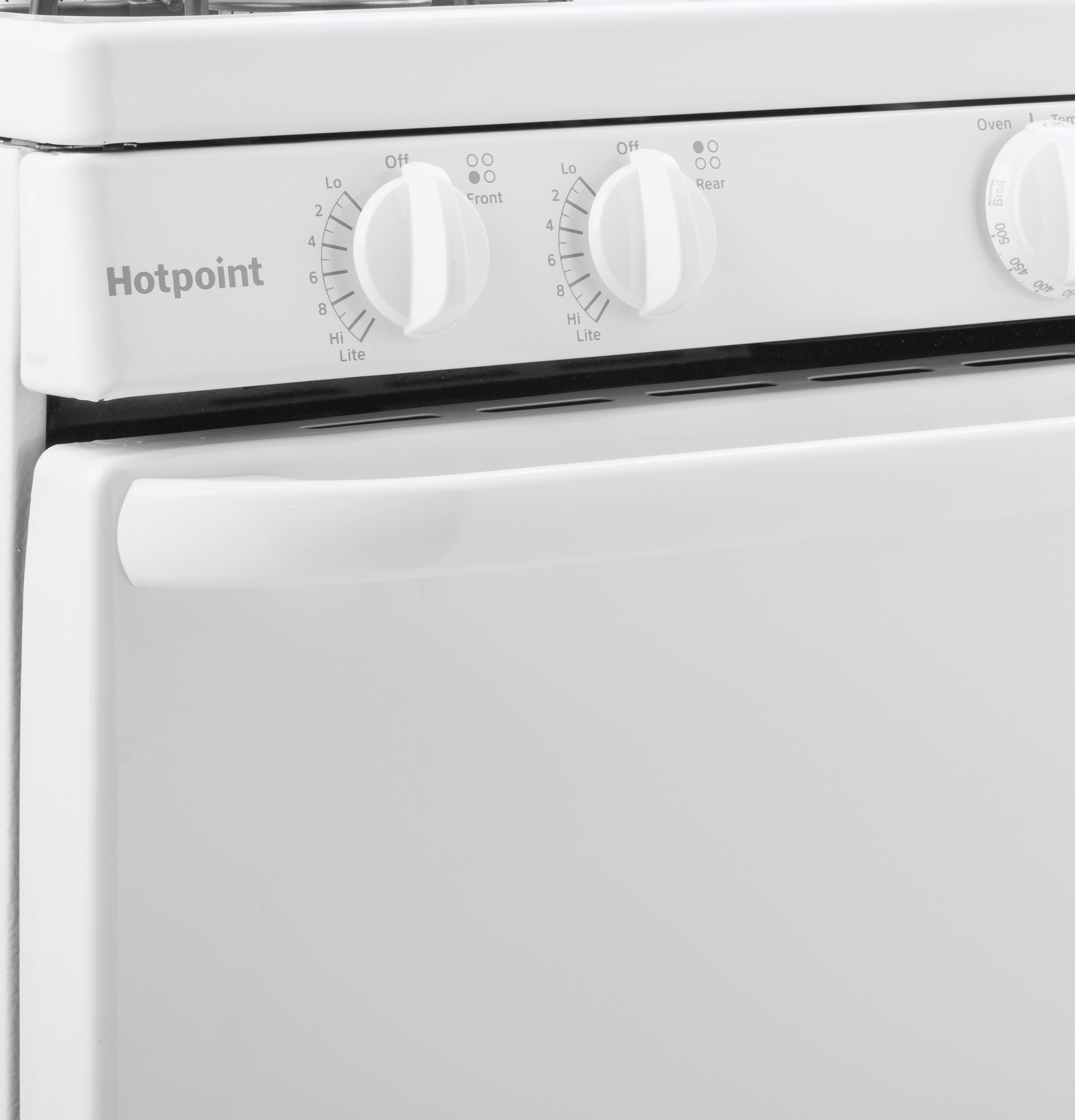 "Model: RGBS300DMWW | Hotpoint Hotpoint® 30"" Free-Standing Gas Range"