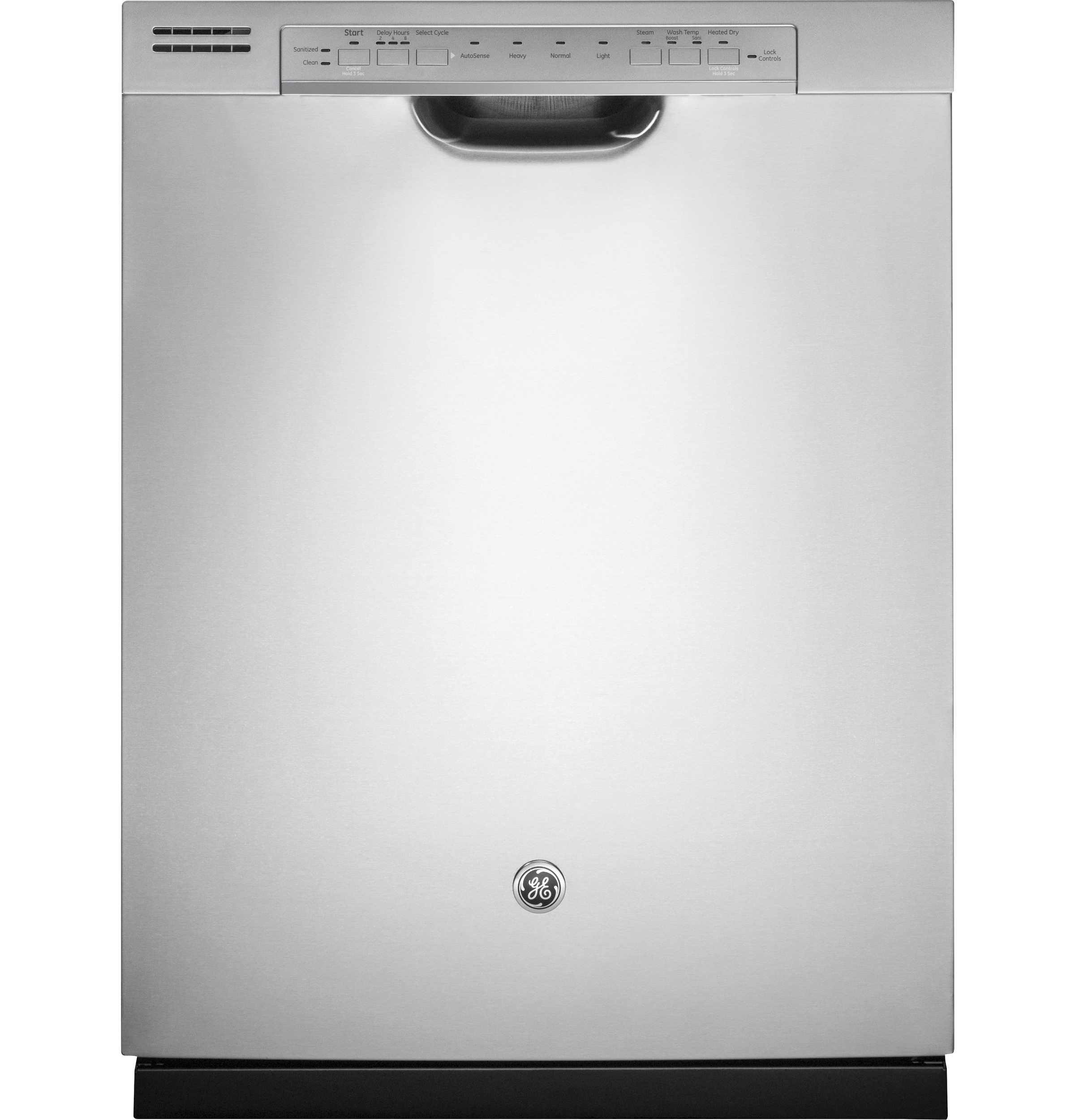 GE GE® Stainless Steel Interior Dishwasher with Front Controls