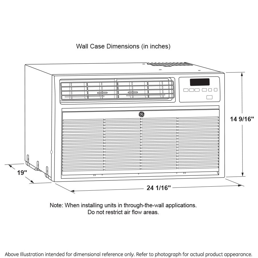 Model: AKCQ12ACA | GE® Built In Air Conditioner