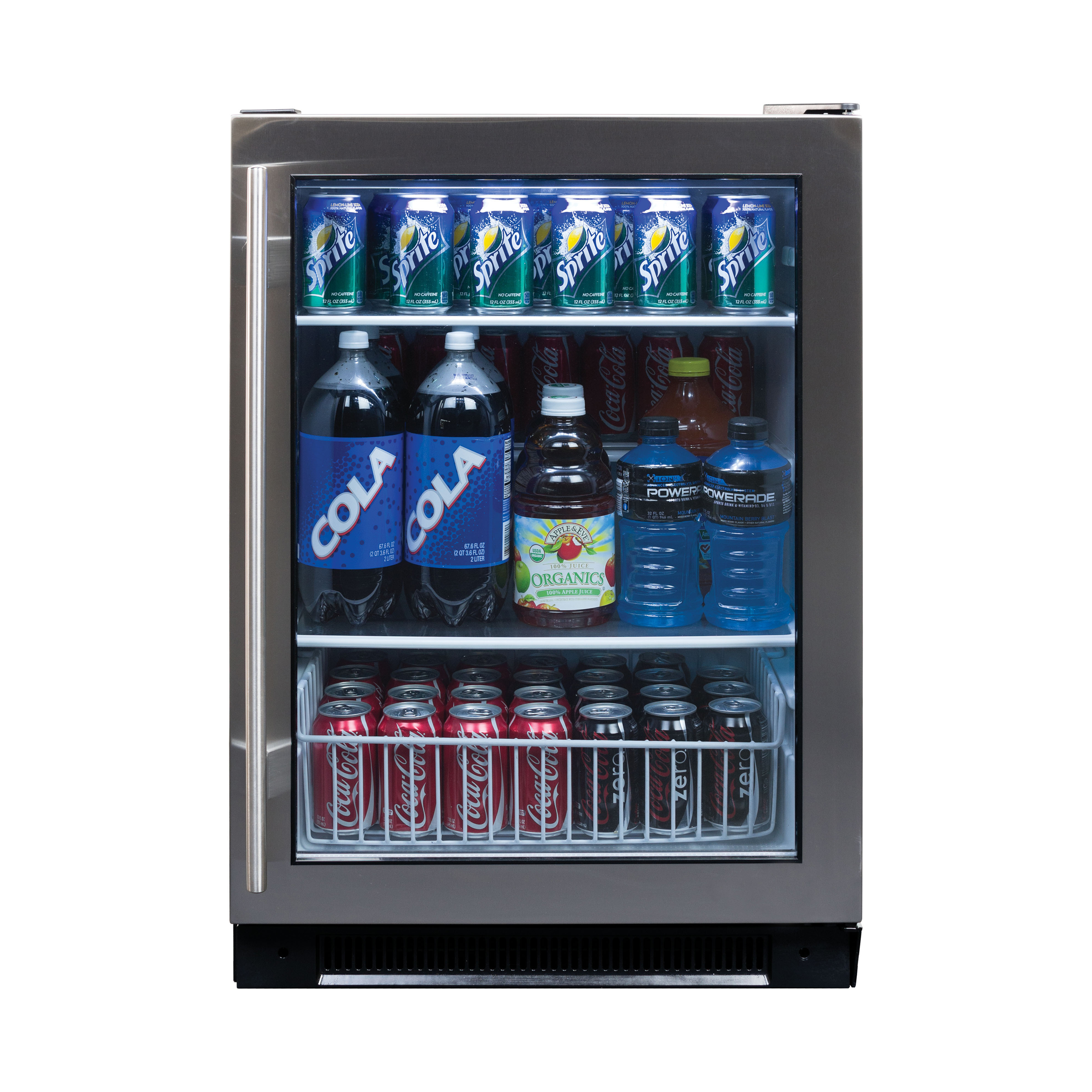 Haier 150-Can Capacity Built-in Beverage Center