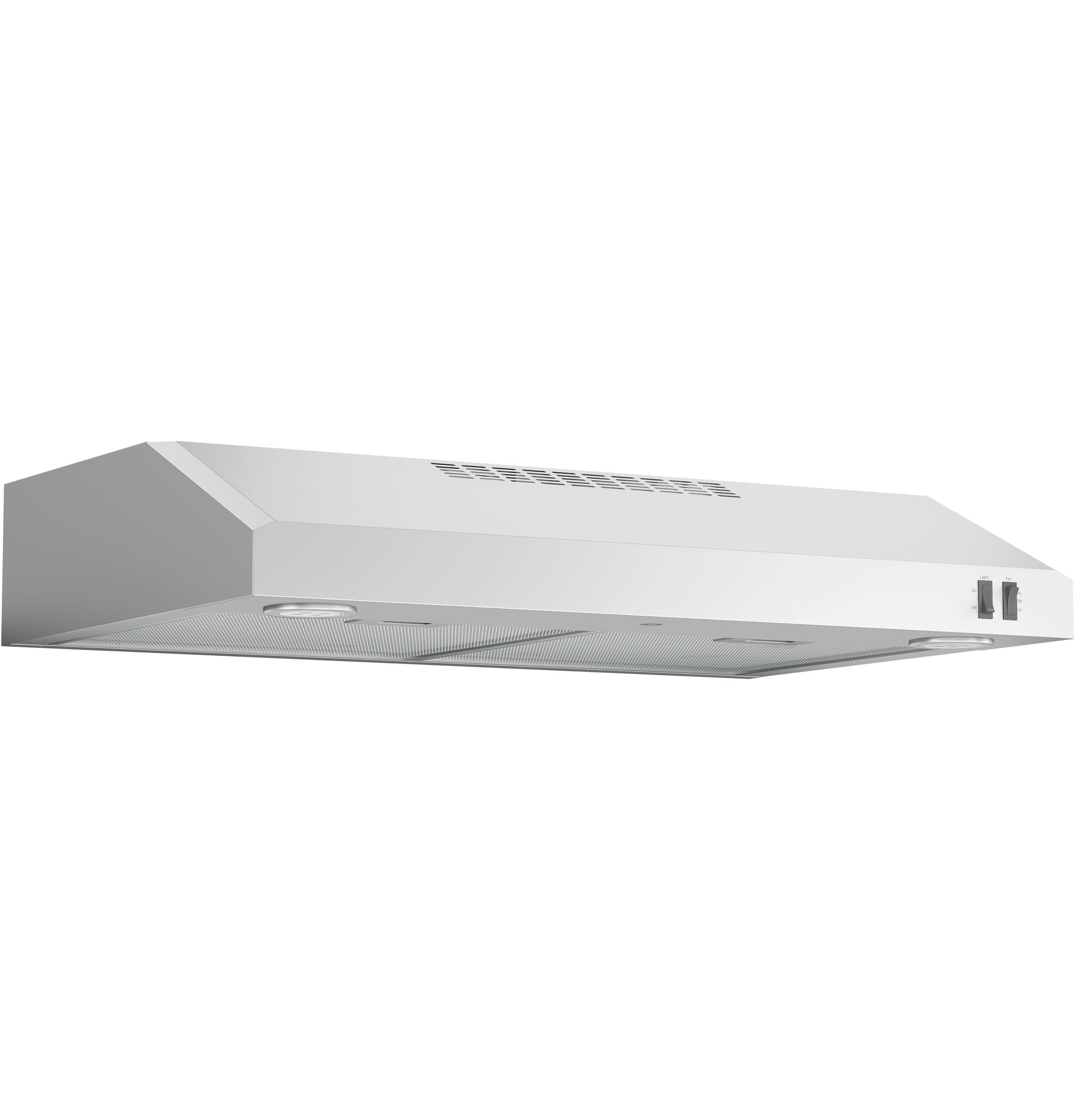 "Model: JVX5305SJSS | GE GE® 30"" ENERGY STAR Certified Under The Cabinet Hood"
