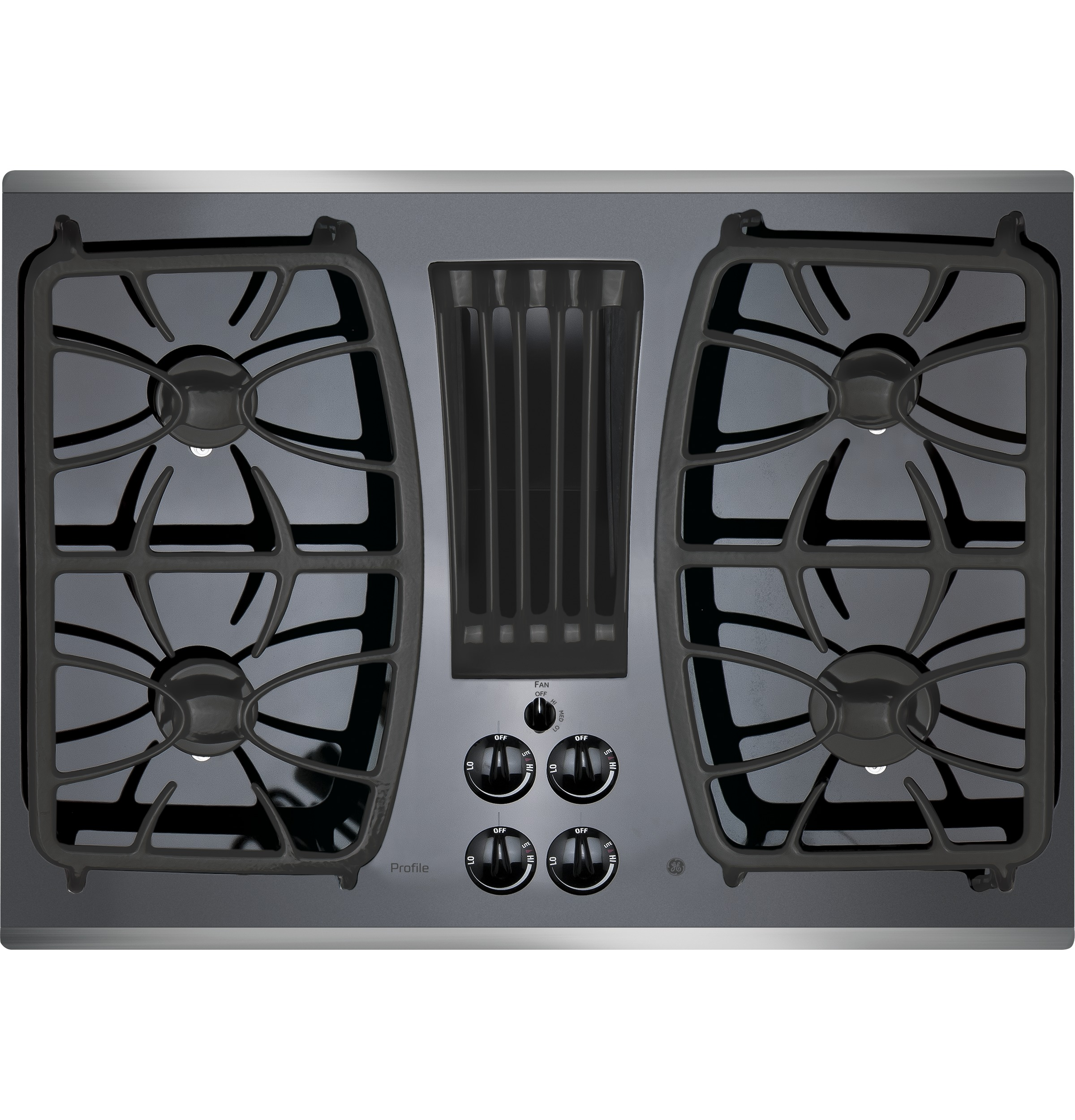 "Profile GE Profile™ 30"" Built-In Gas Downdraft Cooktop"