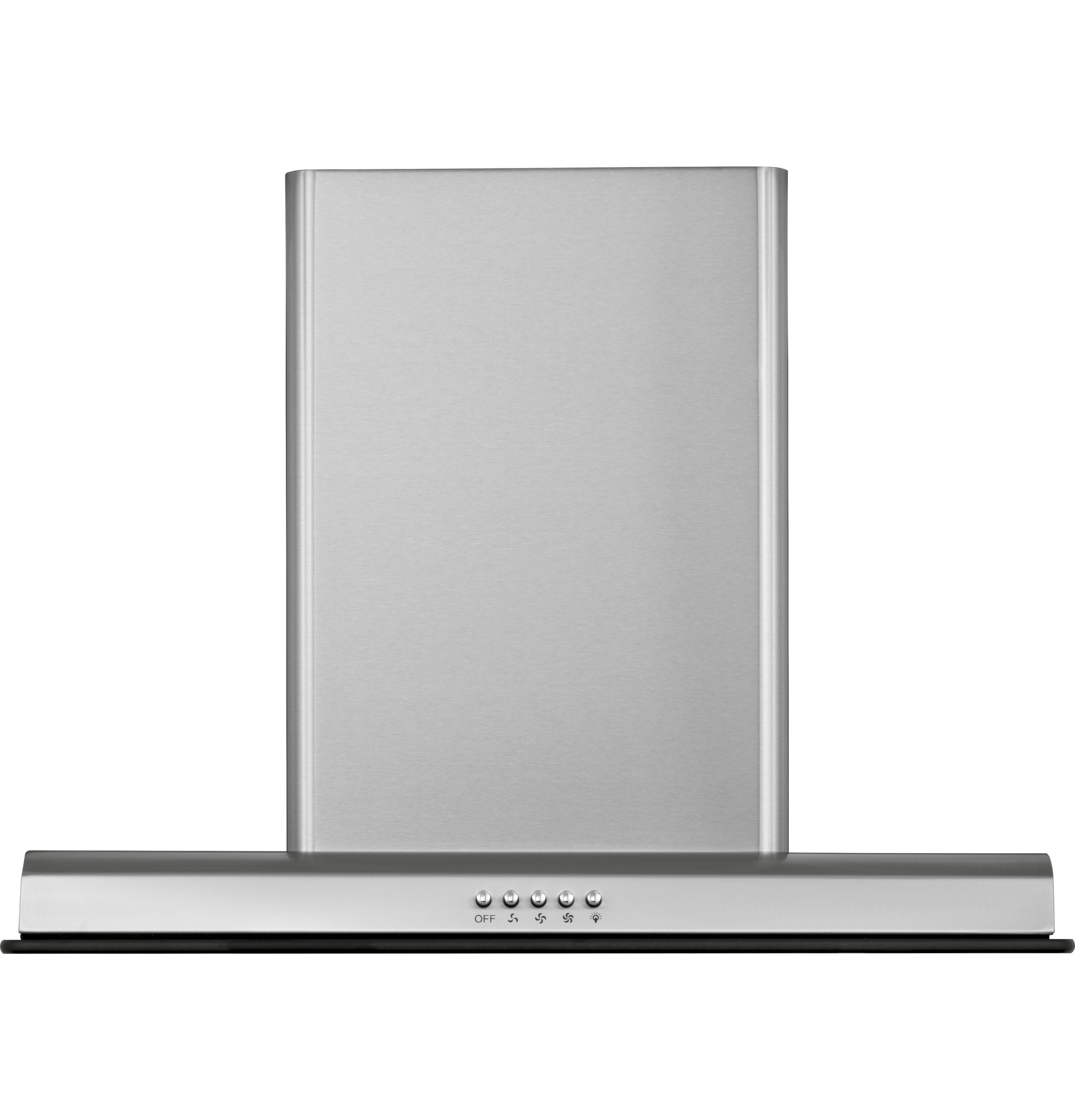 """Haier 24"""" Chimney Vent with Tempered Glass"""