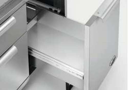 Tank drawer bottom cover