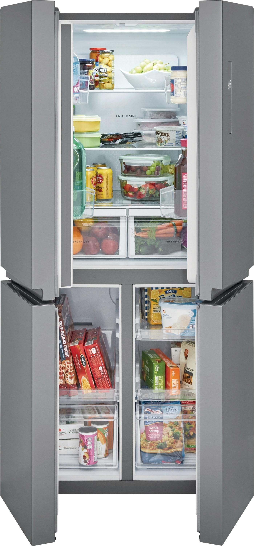 Model: FFBN1721TV | 17.4 Cu. Ft. 4 Door Refrigerator