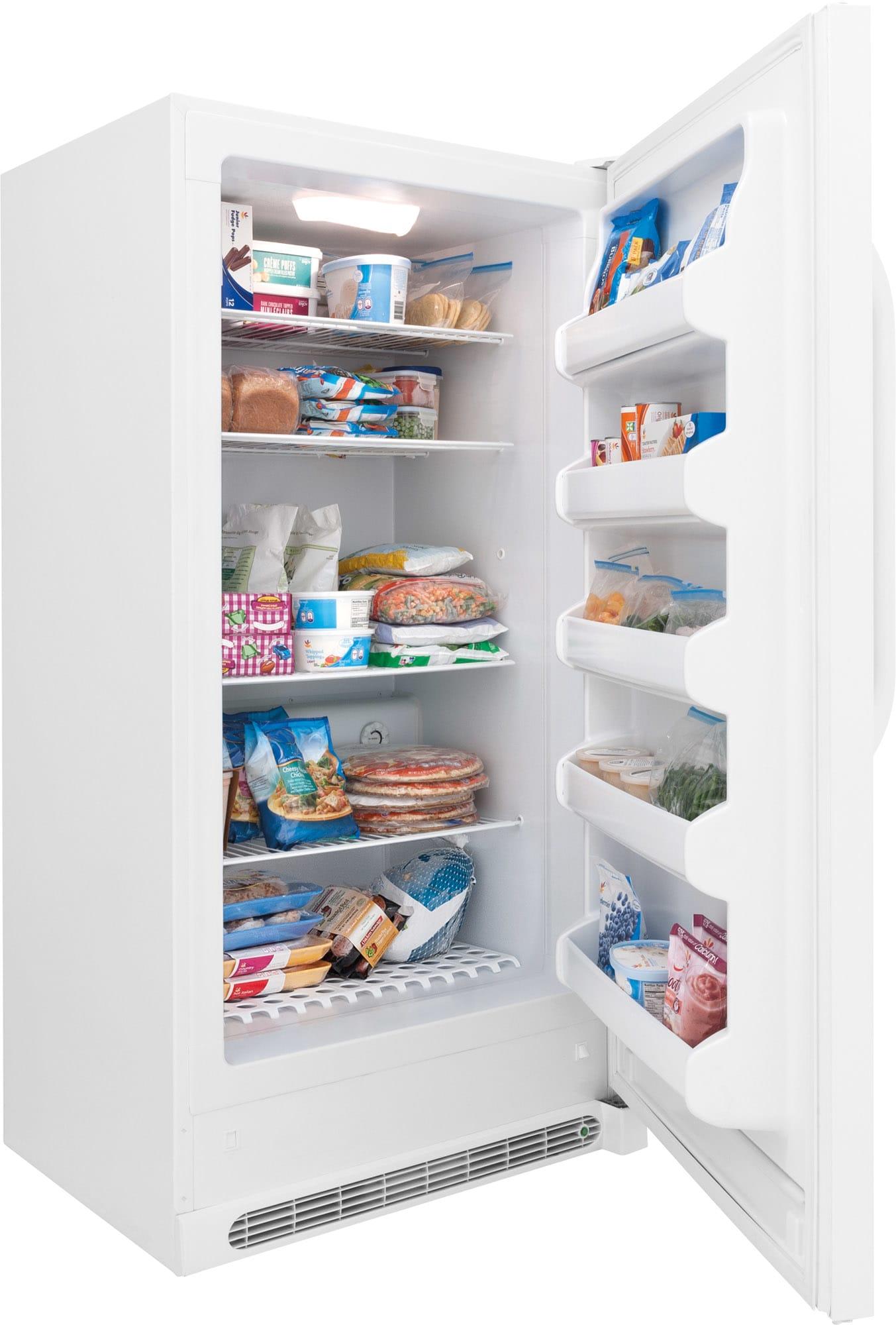 Model: FFFH17F2QW | Frigidaire 16.6 Cu. Ft. Upright Freezer