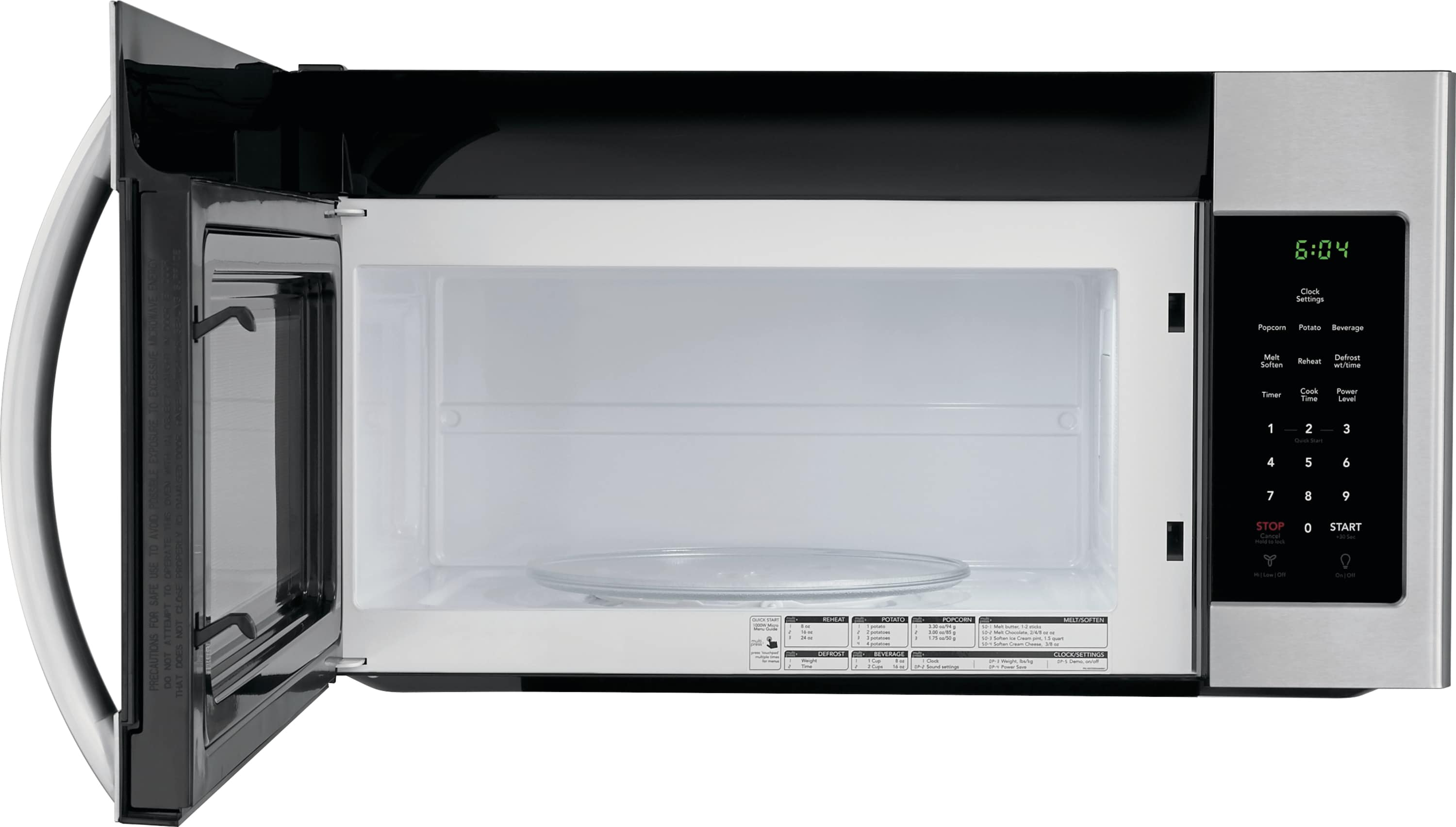 Model: FFMV1645TS | 1.6 Cu. Ft. Over-The-Range Microwave