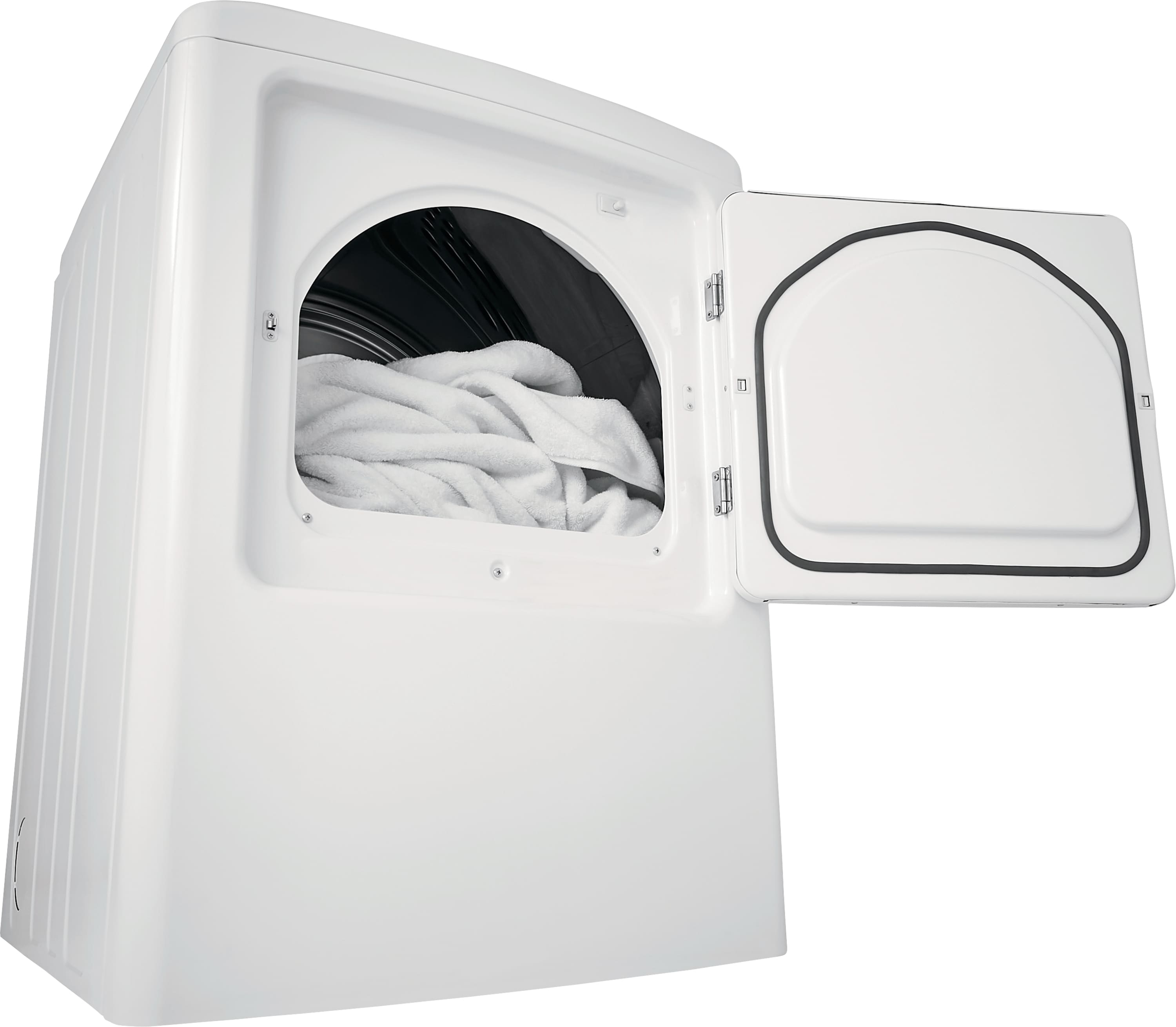 Model: FFRE4120SW | 6.7 Cu. Ft. Free Standing Electric Dryer