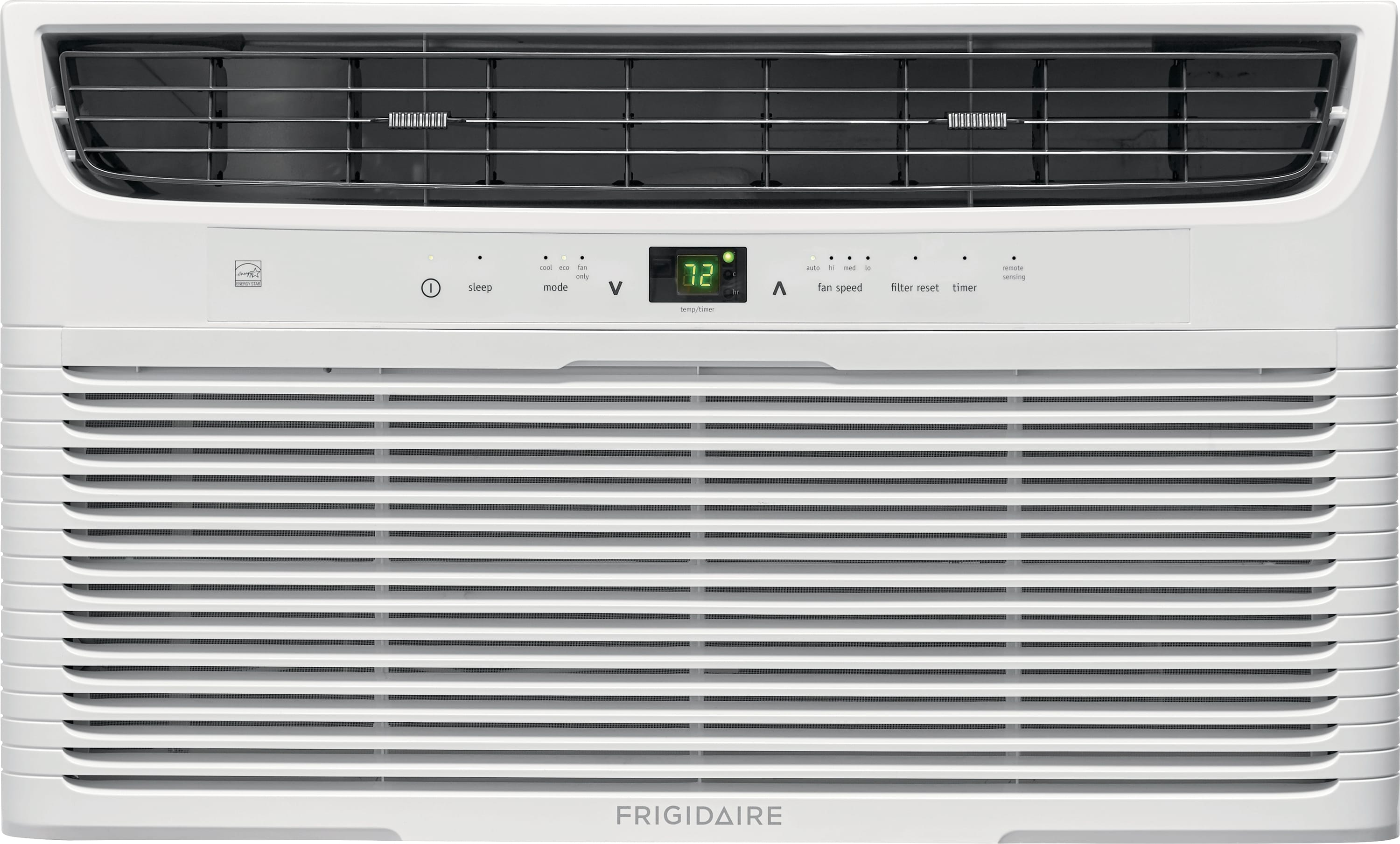 10,000 BTU Built-In Room Air Conditioner with Supplemental Heat- 230V/60Hz