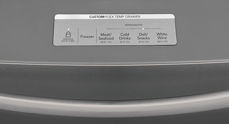 Model: FG4H2272UF | 21.8 Cu. Ft. Counter-Depth 4-Door French Door Refrigerator