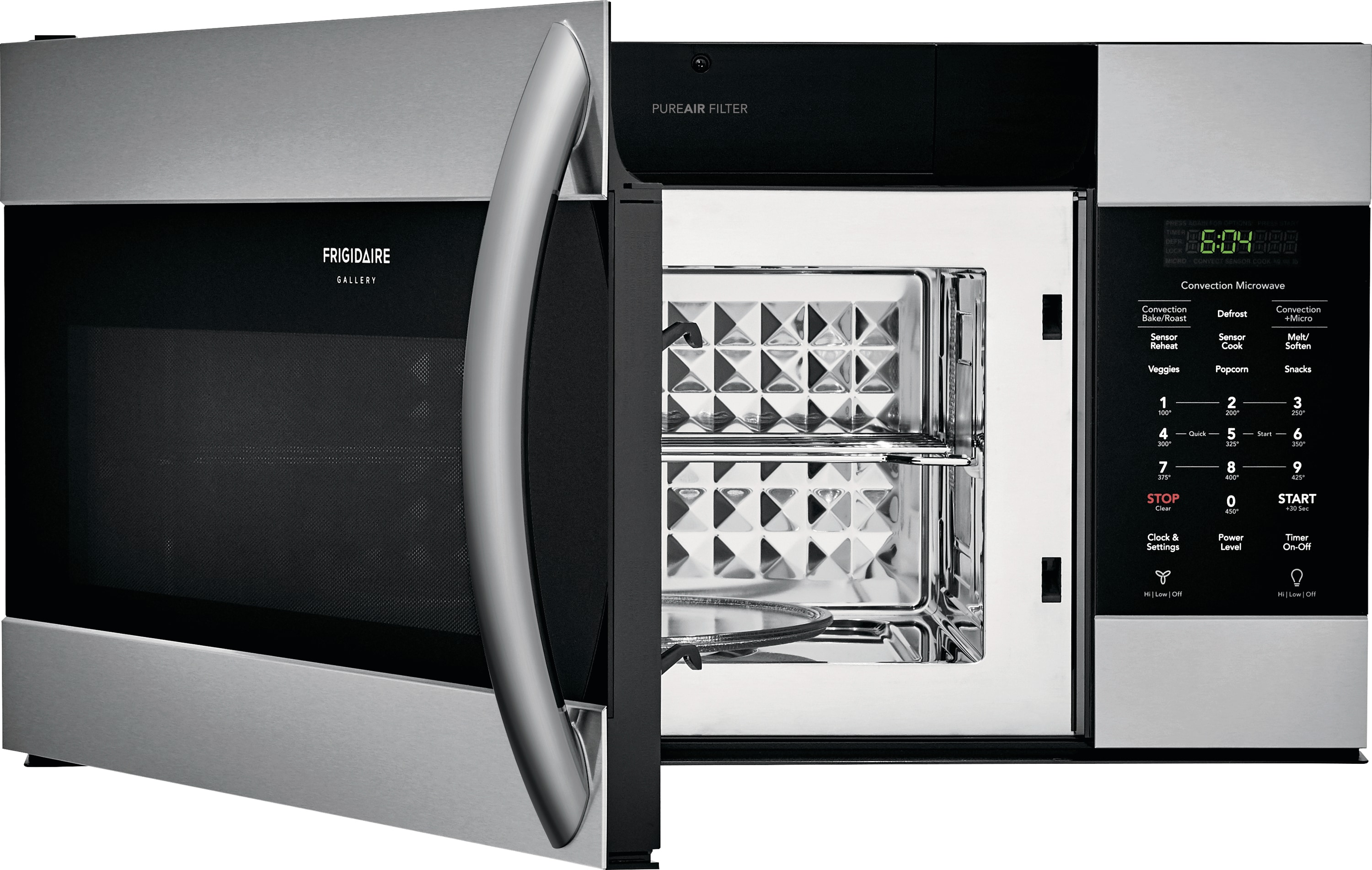 Model: FGMV155CTF | 1.5 Cu. Ft. Over-The-Range Microwave with Convection