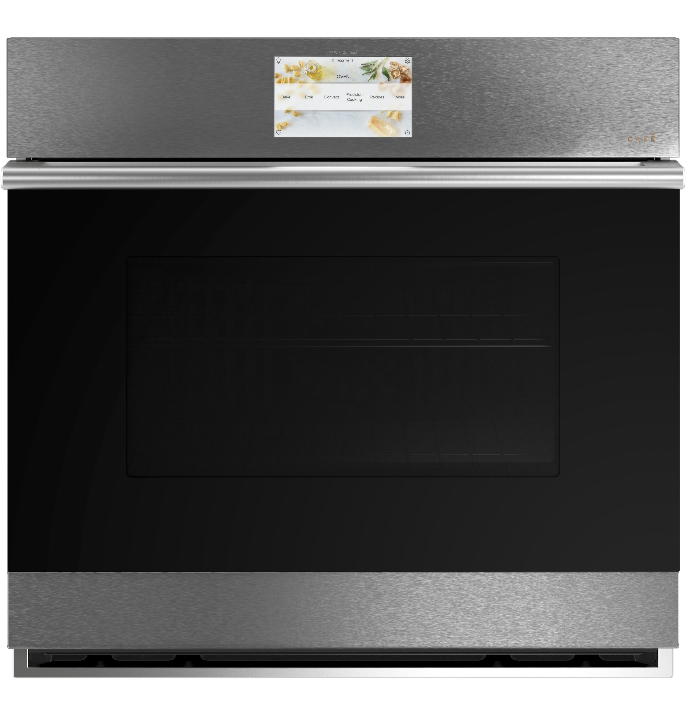 "Cafe Café™ 30"" Built-In Single Electric Convection Wall Oven"