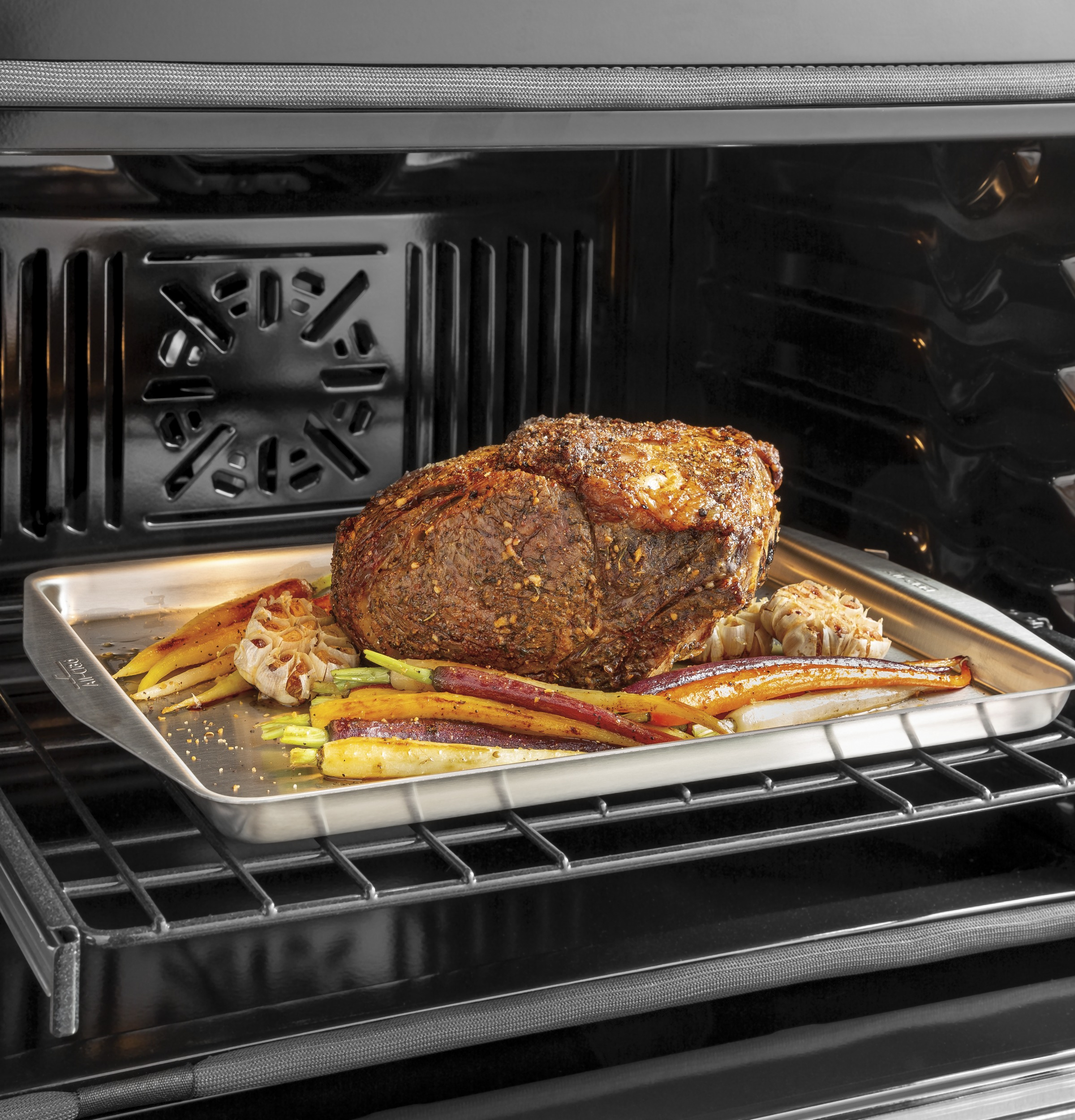 """Model: CTS70DM2NS5   Cafe Café™ 30"""" Smart Single Wall Oven with Convection in Platinum Glass"""
