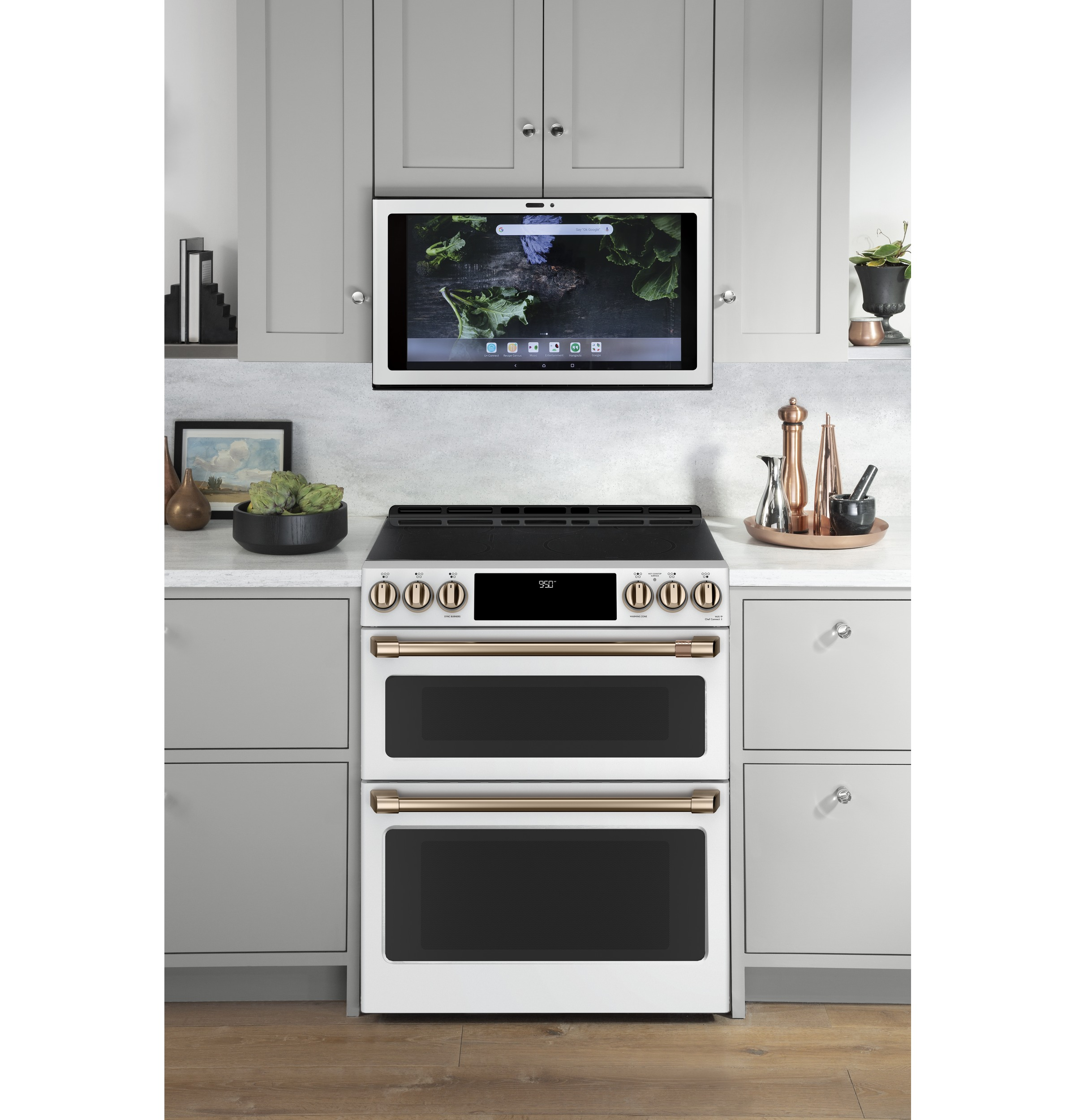 Model: UVH13014MWM | Cafe Kitchen Hub  Smart Home Center