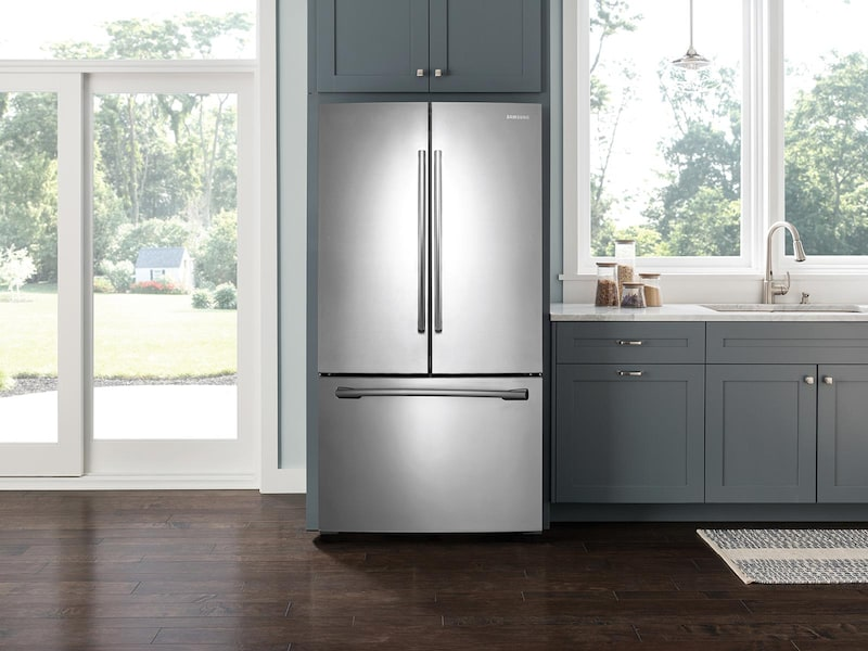 Model: 3RF260BEAESRWEB | Samsung 26 cu. ft. French Door with Filtered Ice Maker