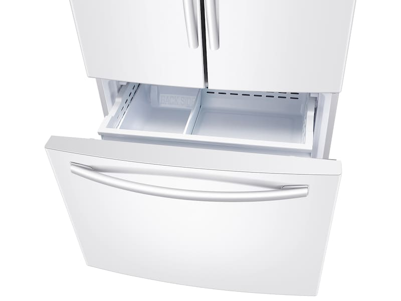 Model: RF261BEAEWW   Samsung 26 cu. ft. French Door Refrigerator with Internal Filtered Water