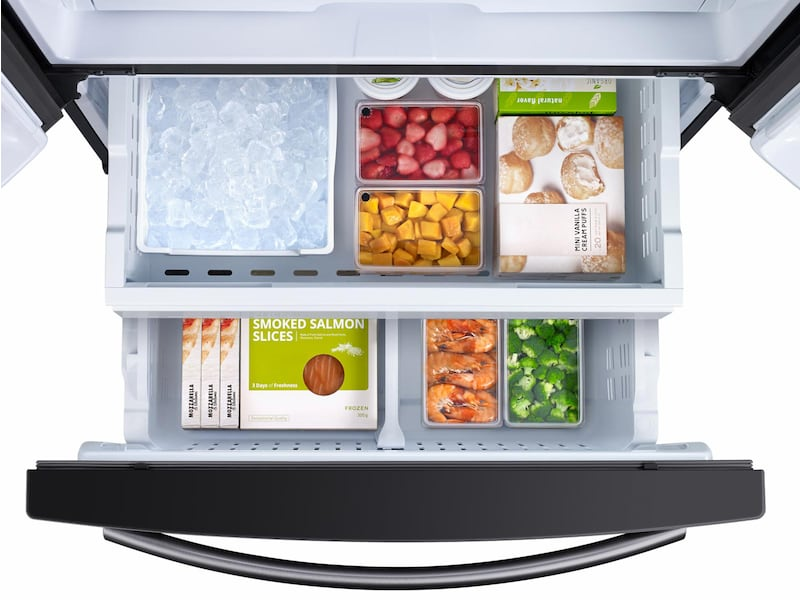 Model: RF261BEAESG | Samsung 26 cu. ft. French Door Refrigerator with Internal Filtered Water