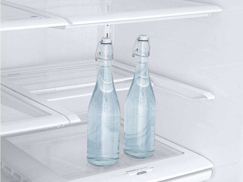 Model: RF263BEAESR | Samsung 25 cu. ft. French Door with External Water & Ice Dispenser